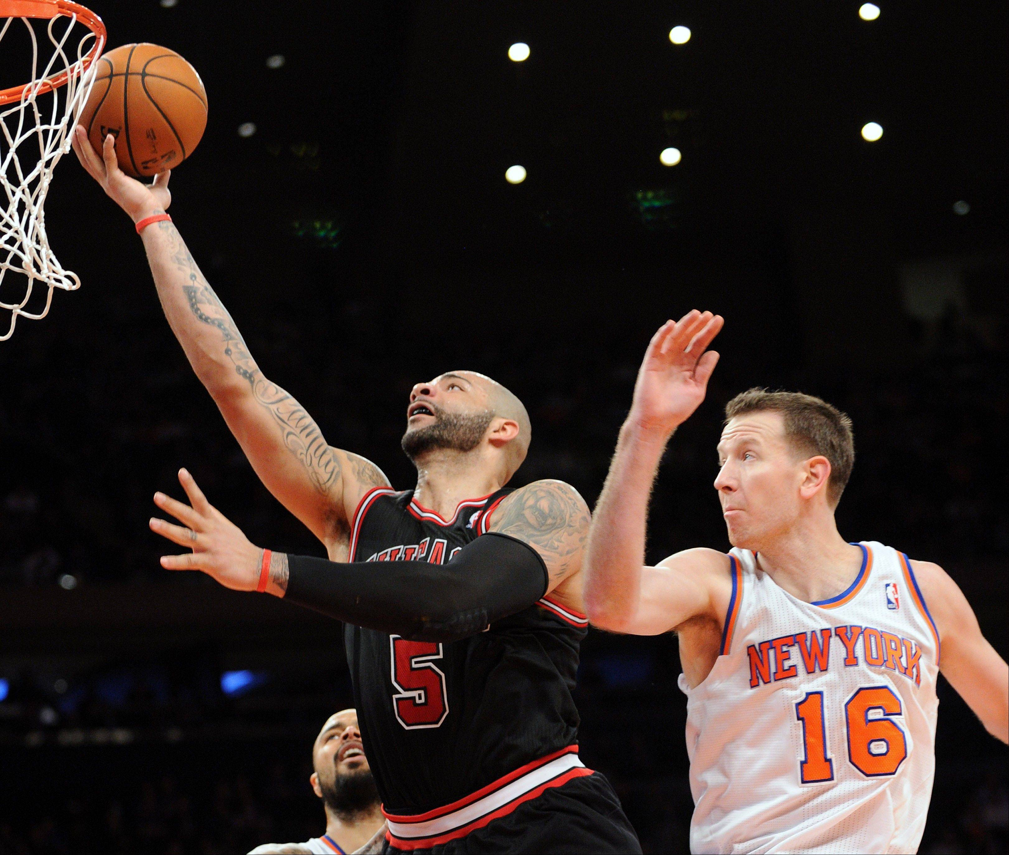 Carlos Boozer is bolstering his all-star credentials in January as the Bulls' power forward has hit 56 percent of his field goals and averaged 24 points per game.