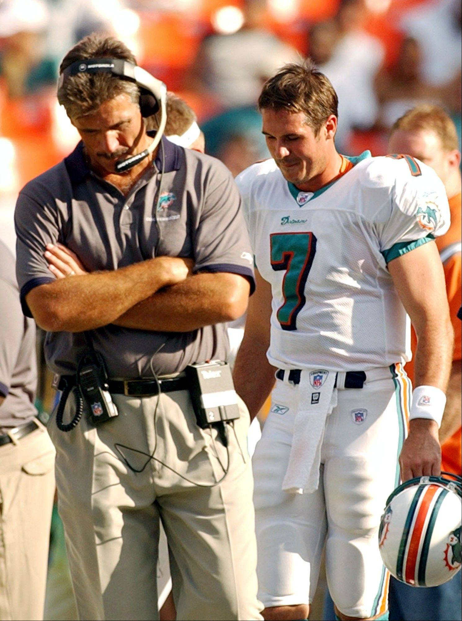 Former Bears coach Dave Wannstedt brought Trestman aboard for the 2004 Miami Dolphins season. Trestman worked with quarterbacks A.J. Feeley and Jay Fiedler.