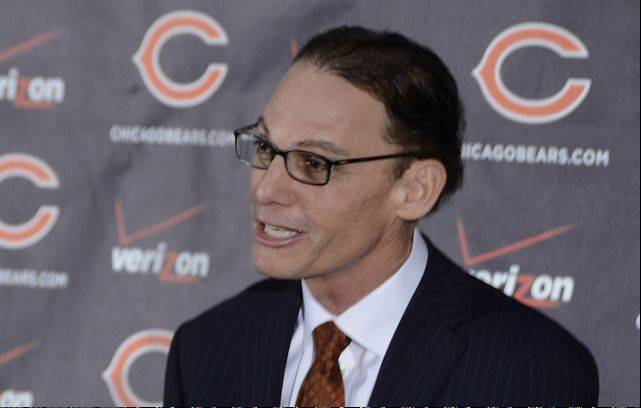 "Marc Trestman, the new coach of the Chicago Bears, was introduced Thursday morning at Halas Hall. He met recently with Bears quarterback Jay Cutler, and said he can't wait to ""go to work with him."""