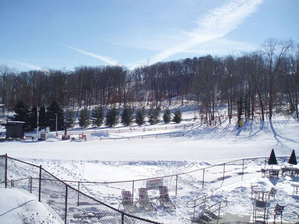 From blankets of snow, as seen in this Wisconsin Dells ski area, to storms, drought and flooding, Michelle Nichols of the Adler Planetarium will explain climate change.