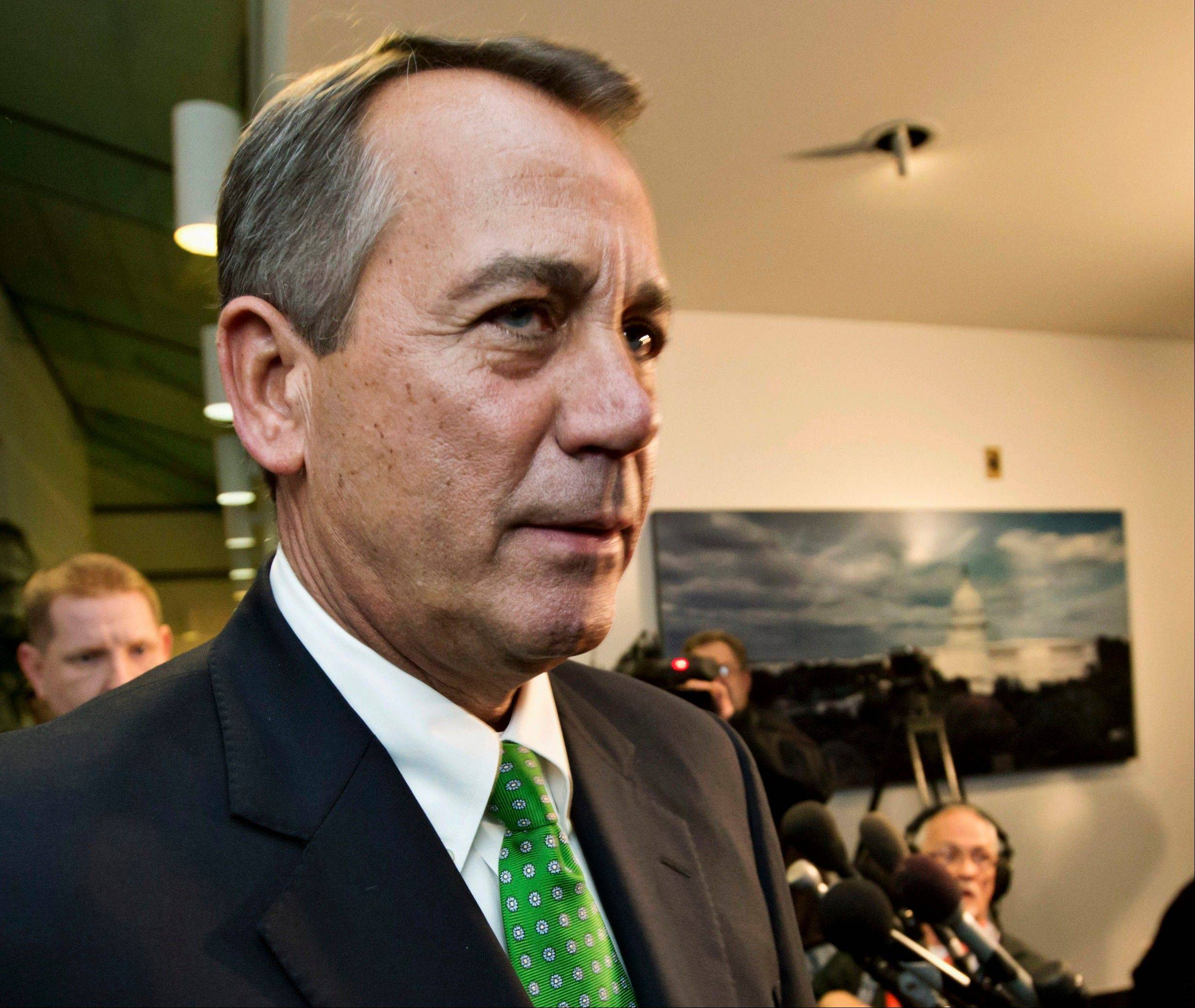 Associated Press/Jan. 1, 2013 House Speaker John Boehner of Ohio and GOP-controlled House will vote next week to permit the government to borrow more money to meet its obligations, a move aimed at heading off a market-rattling confrontation with President Barack Obama over the so-called debt limit.