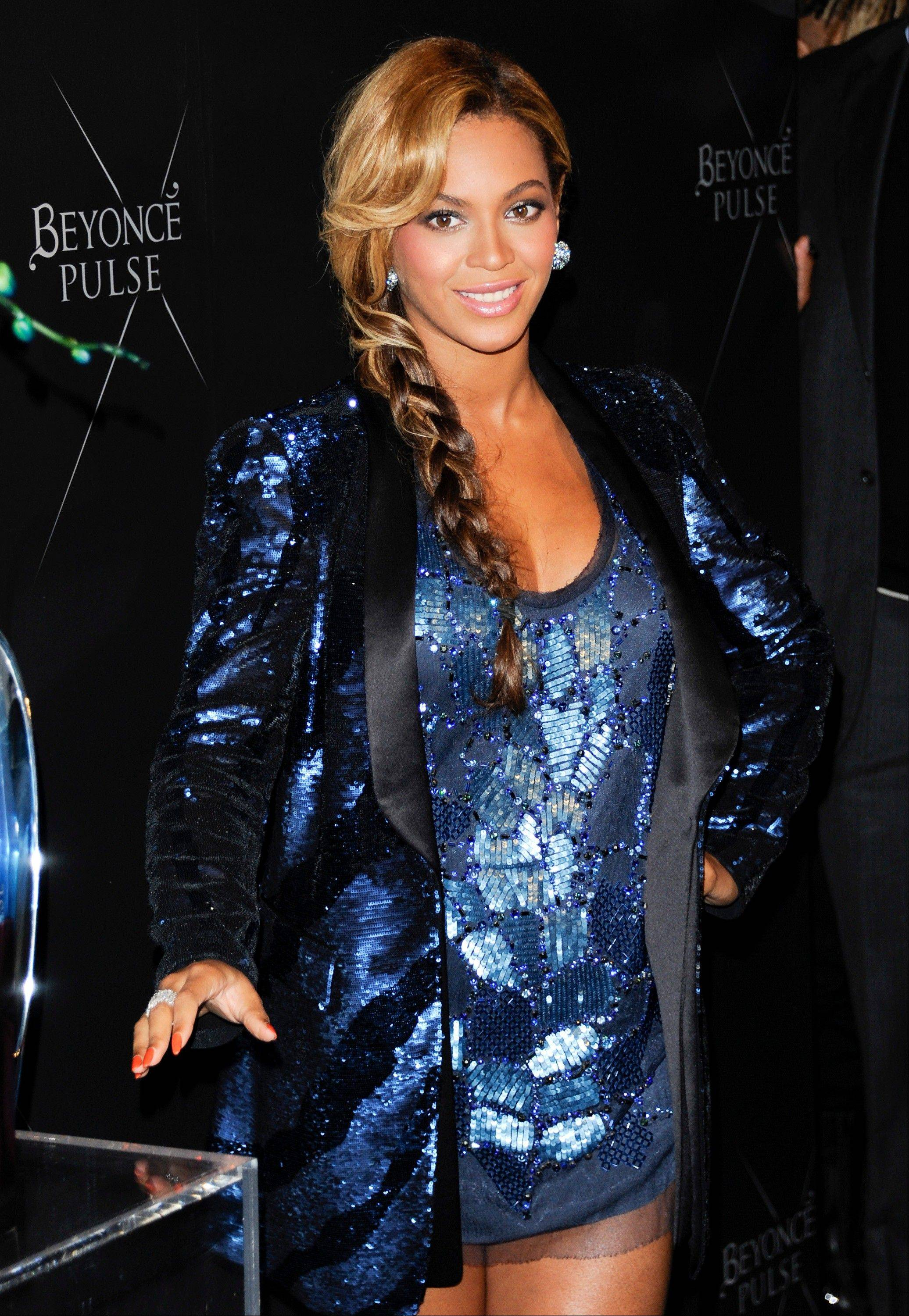Singer Beyonce unveils her new fragrance �Pulse� at the Dream Hotel, in New York.