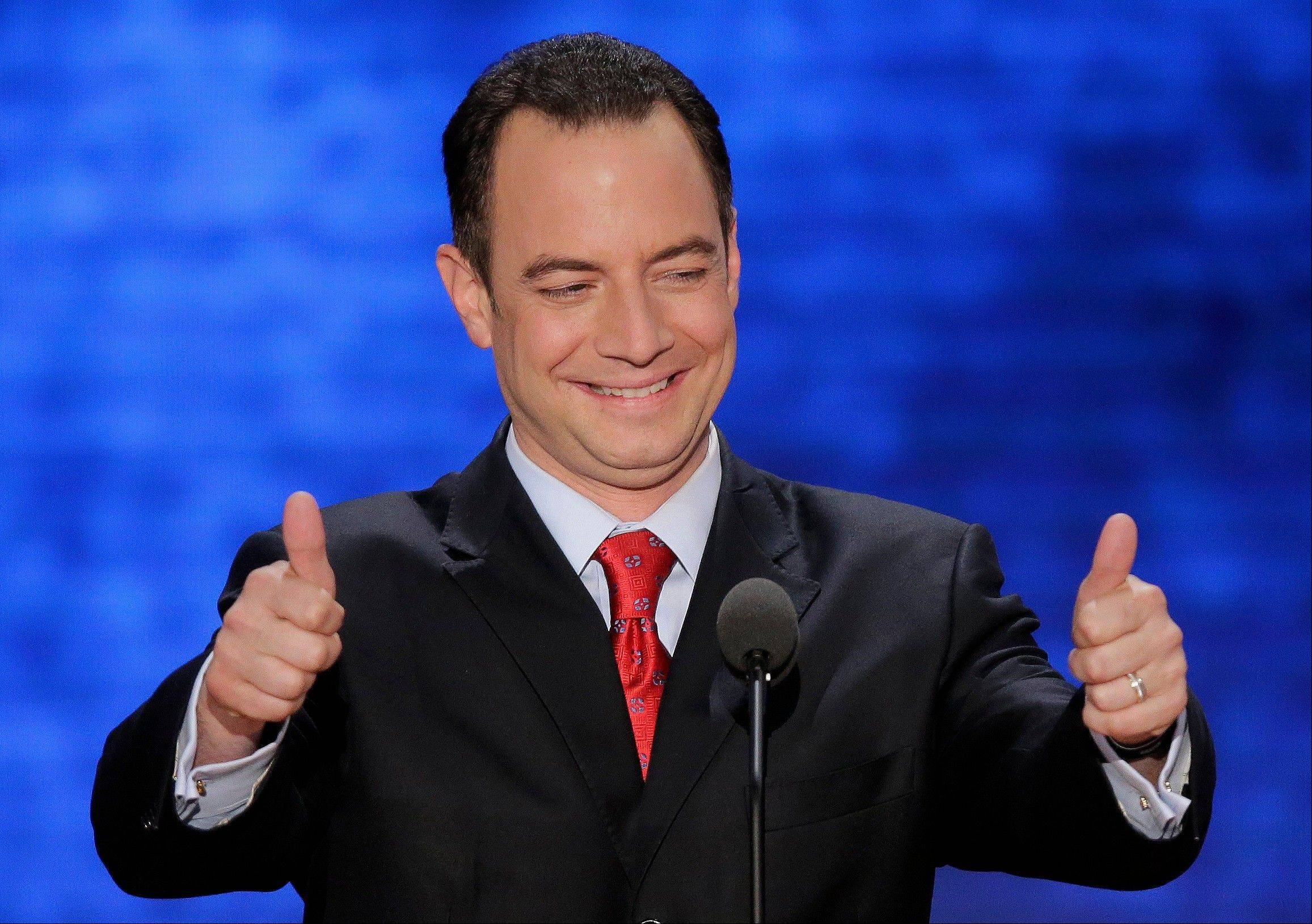 Associated Press Chairman of the Republican National Convention Reince Priebus has endorsed the idea of GOP officials who control legislatures in states that supported President Barack Obama and are considering changing state laws that give the winner of a state's popular vote all of its Electoral College votes, too.