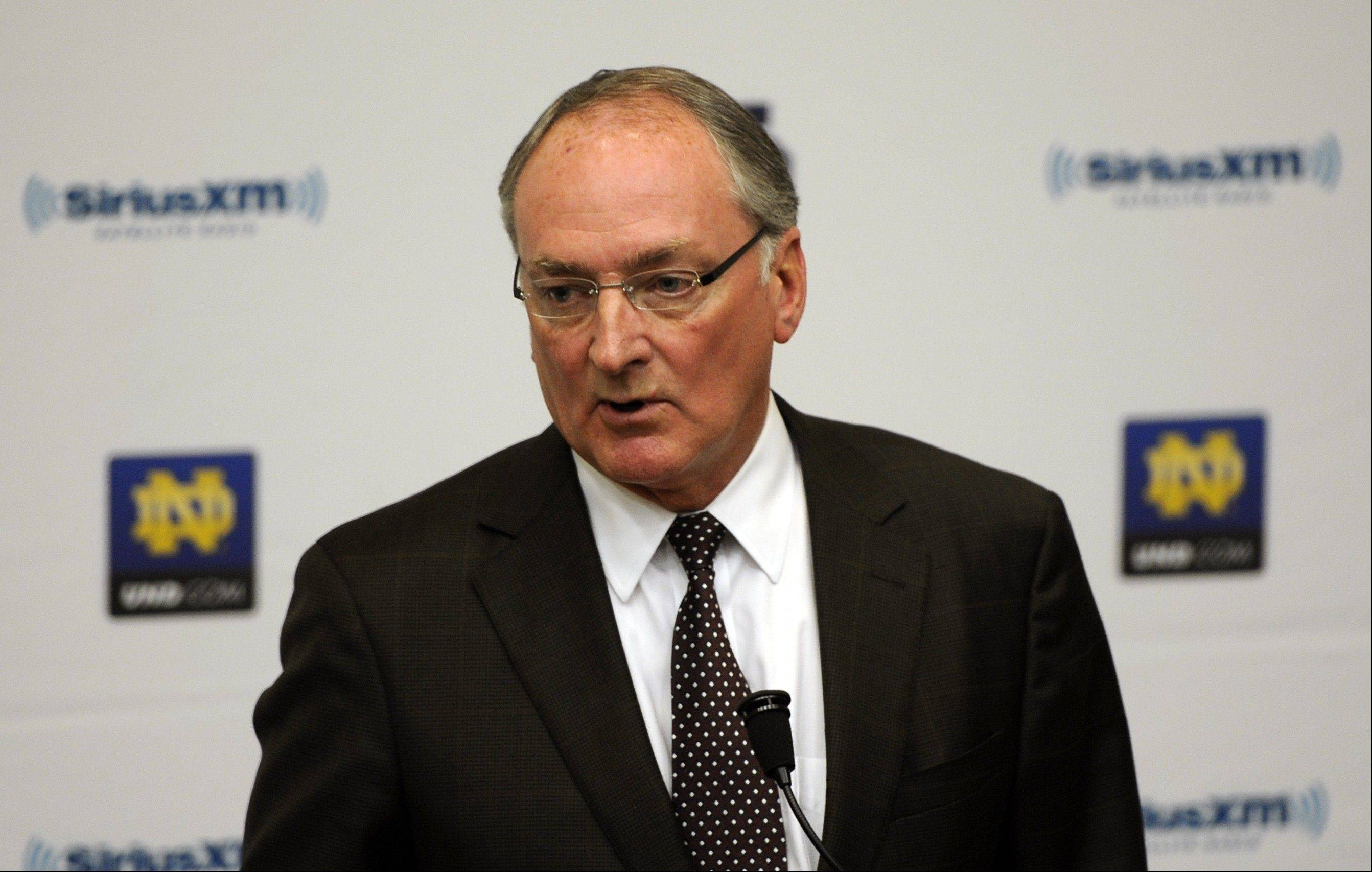 Notre Dame Athletic Director Jack Swarbrick believes that Manti Te'o was the victim of a hoax apparently perpetrated against the linebacker.