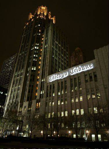 A published report says Chicago Sun-Times owner Wrapports LLC is interested in buying assets of the Tribune Co., owners of the Chicago Tribune and other media holdings.