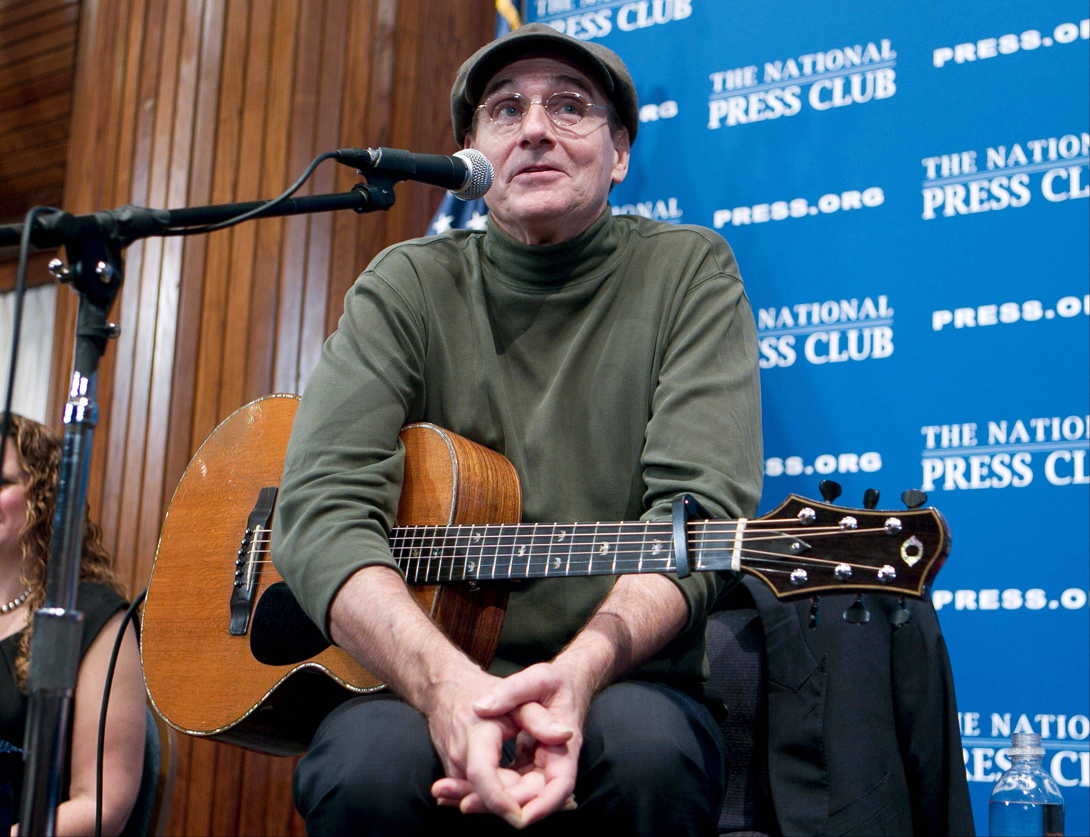 "Grammy Award-winning singer-songwriter James Taylor will sing ""America the Beautiful"" on the West Front of the Capitol on Monday as part of the inauguration ceremonies."