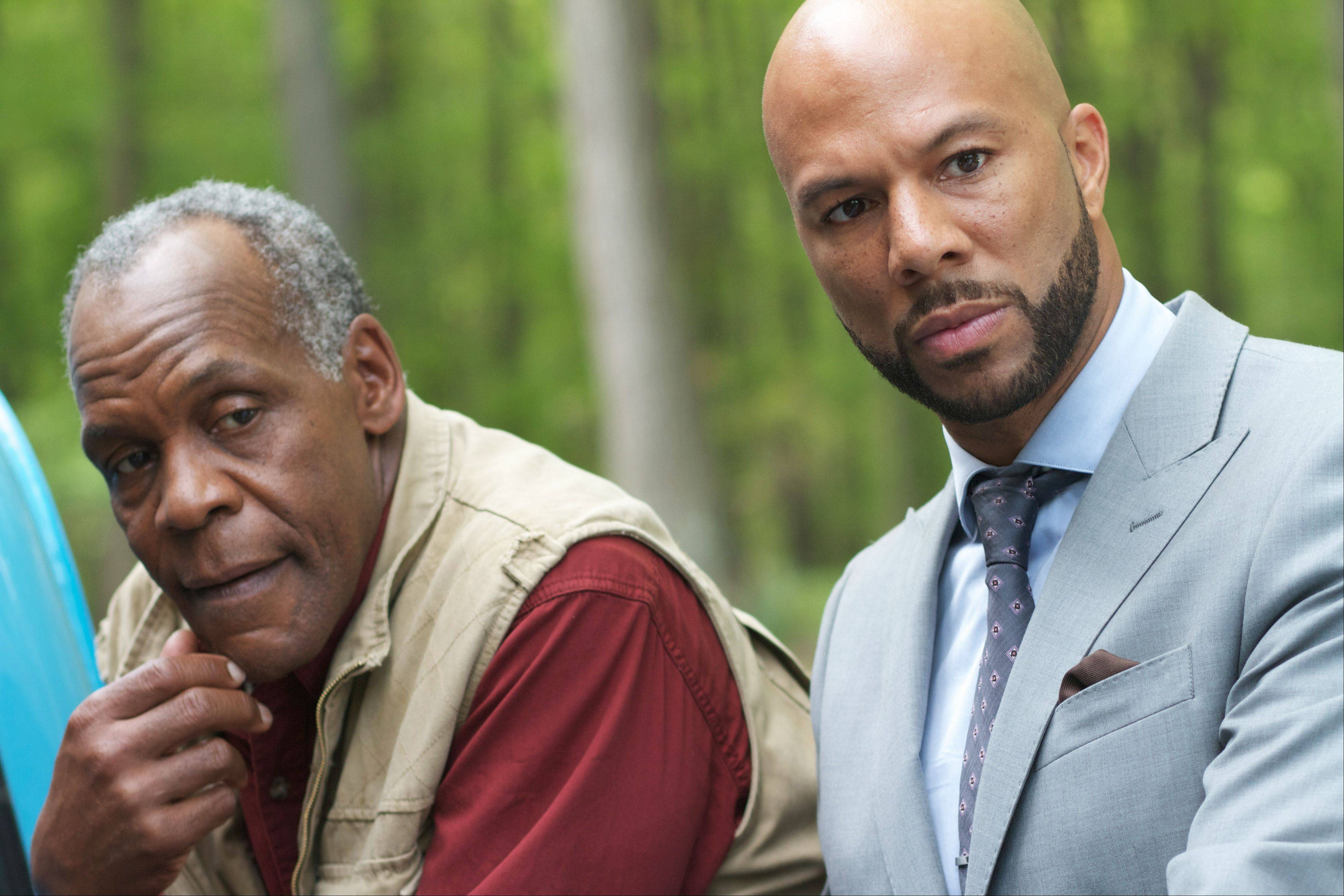 "Vincent (Common) spends time with pal Arthur (Danny Glover) in ""LUV."""