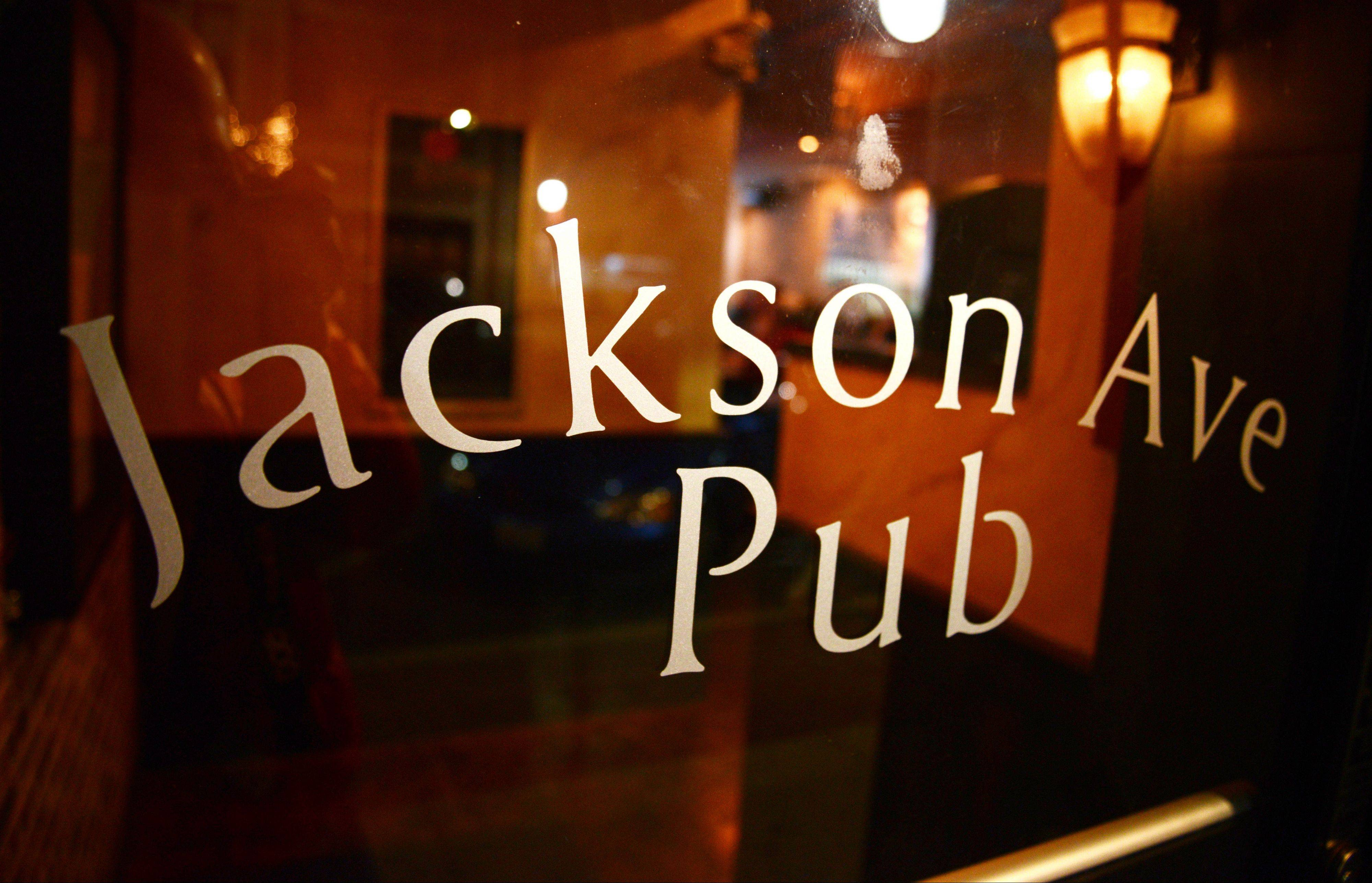 Jackson Ave. Pub caters to families looking for dinner and singles mingling over drinks.