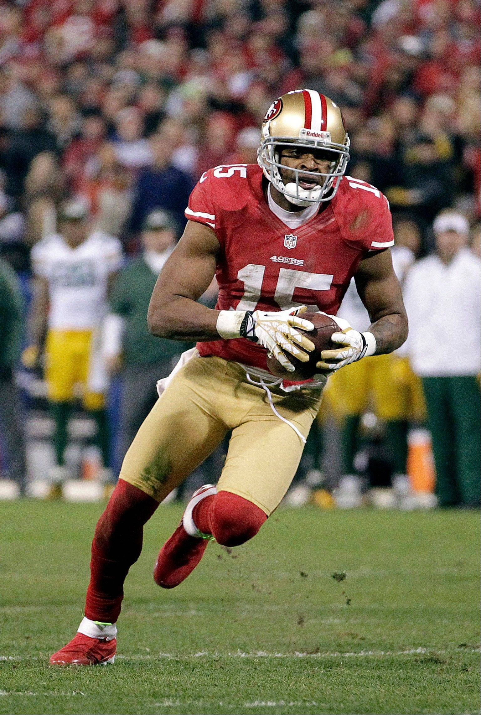 Police in San Francisco received a report of a sexual assault involving 49ers receiver Michael Crabtree.