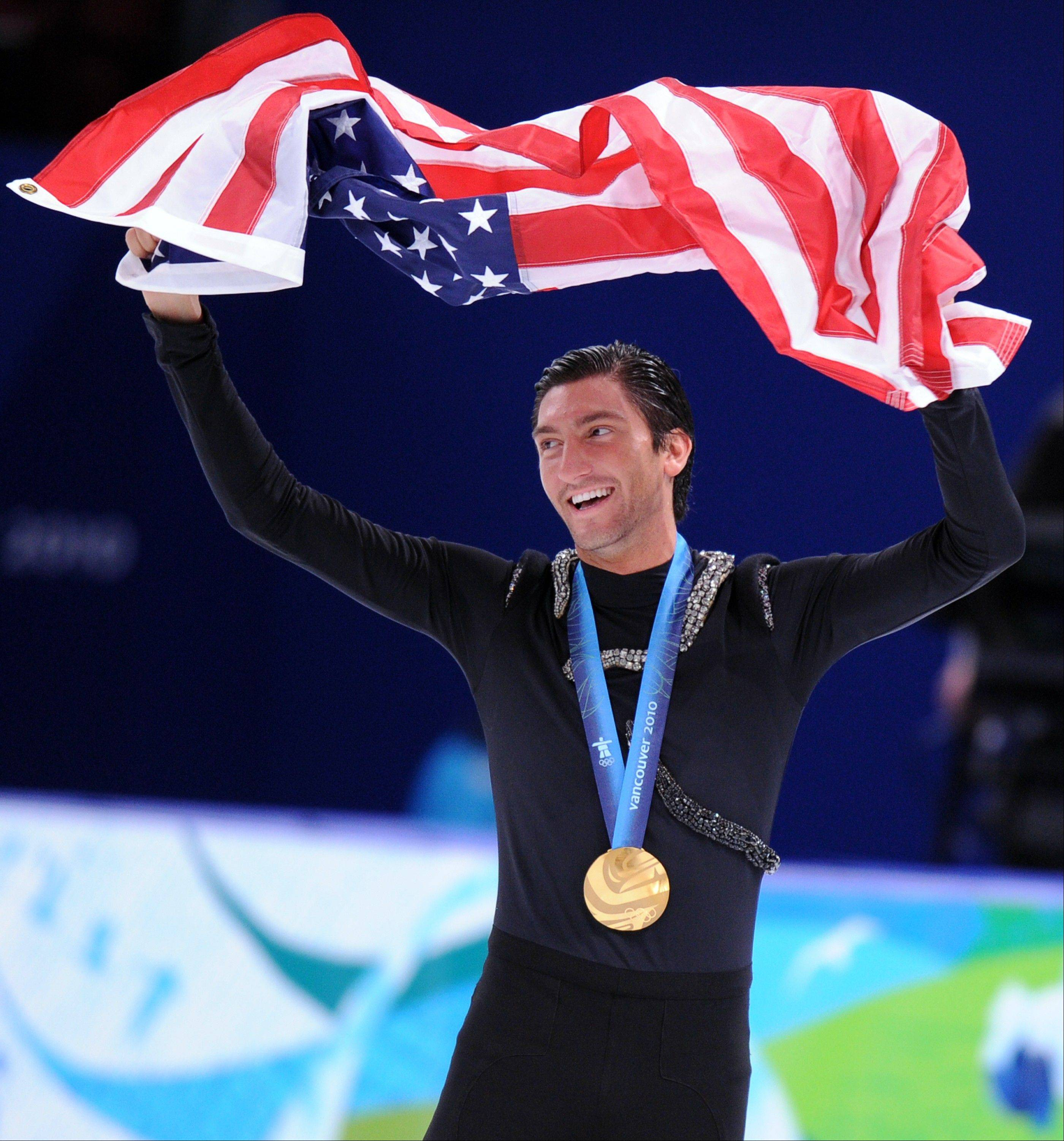 Evan Lysacek, Naperville native and 2010 Olympic gold medal winner, had surgery in November for a sports hernia.