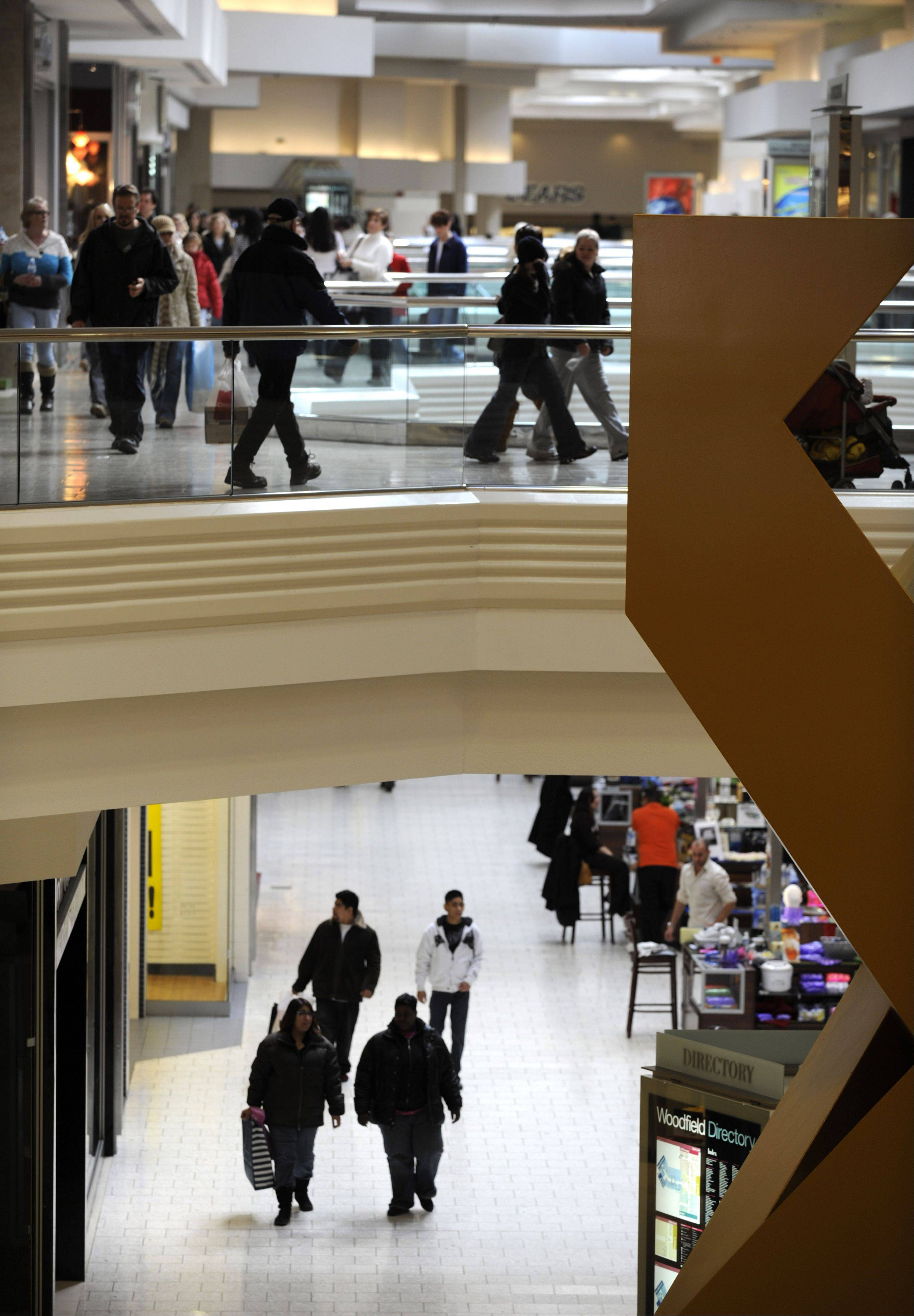 Schaumburg police say they are investigating why a 24-year-old man jumped from the second level to the first at Woodfield Mall late Saturday afternoon. Police said the man suffered serious but not life-threatening injuries and was taken to Alexian Brothers Medical Center in Elk Grove Village.