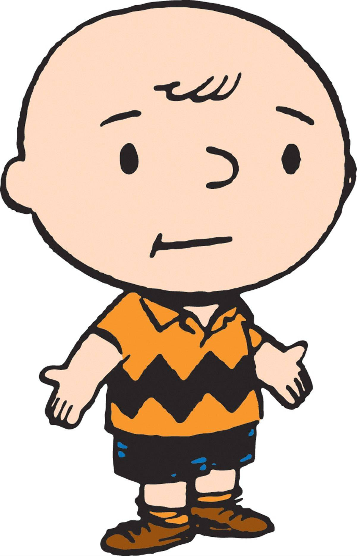 "A 1950s drawing of ""Peanuts"" character Charlie Brown by Charles M. Schulz is part of ""Charlie Brown and the Great Exhibit"" at the Museum of Science and Industry."