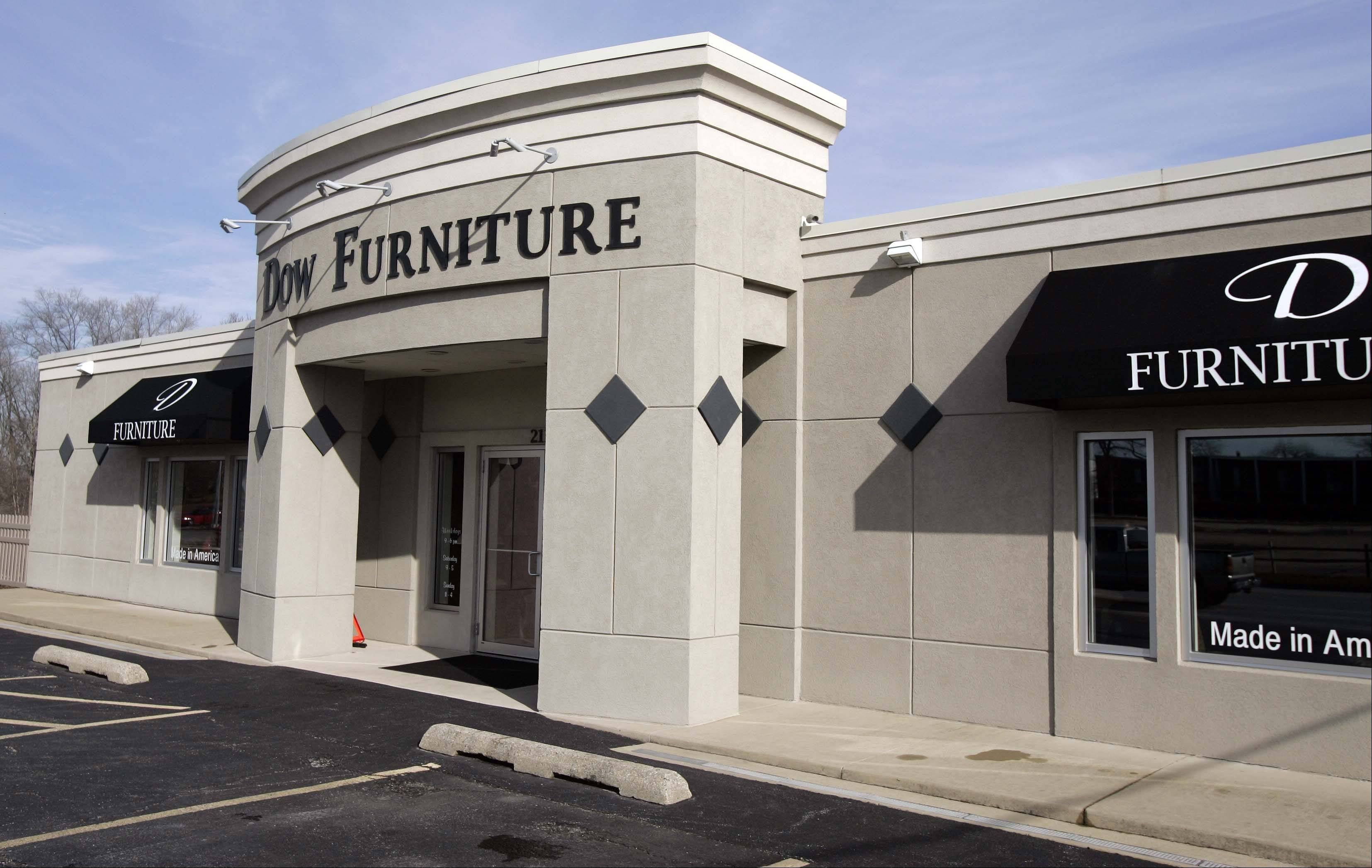 Dow Furniture's roots in the Aurora area date back to the 1920s.