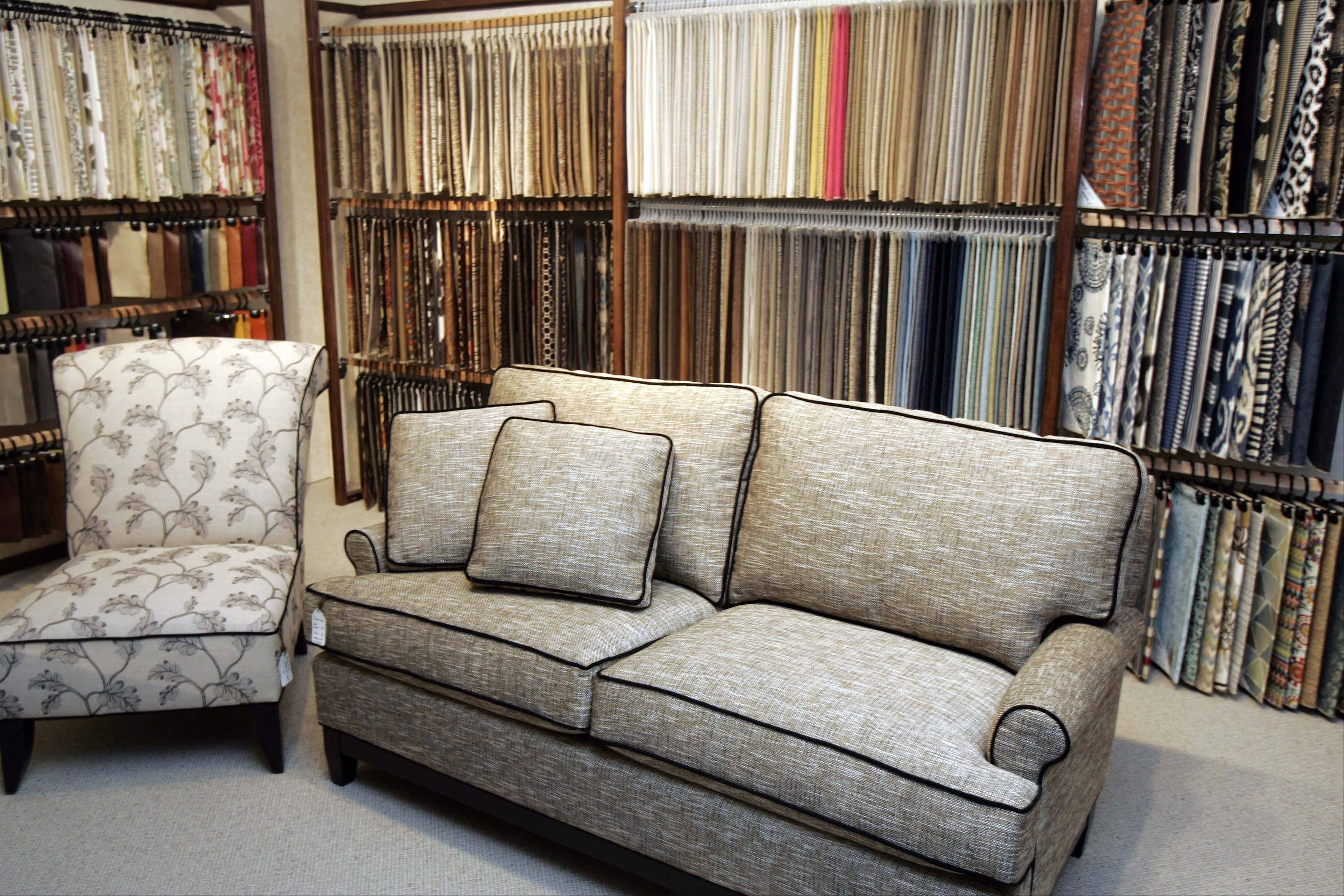 Dow Furniture in North Aurora offers some smaller and compact furniture for those homeowners looking to downsize.