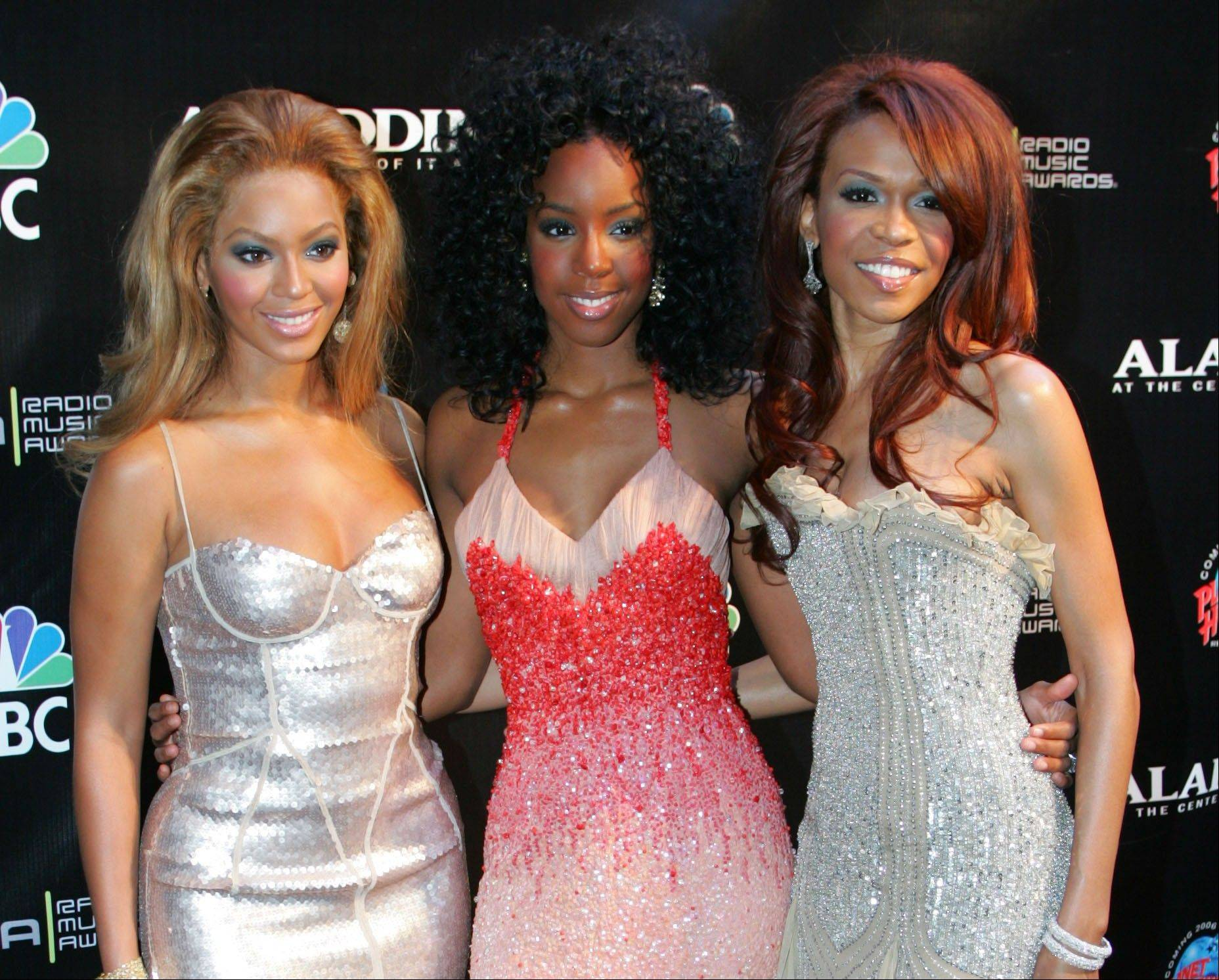 Members of Destiny's Child, from left, included Beyoncé Knowles, Kelly Rowland and Michelle Williams.
