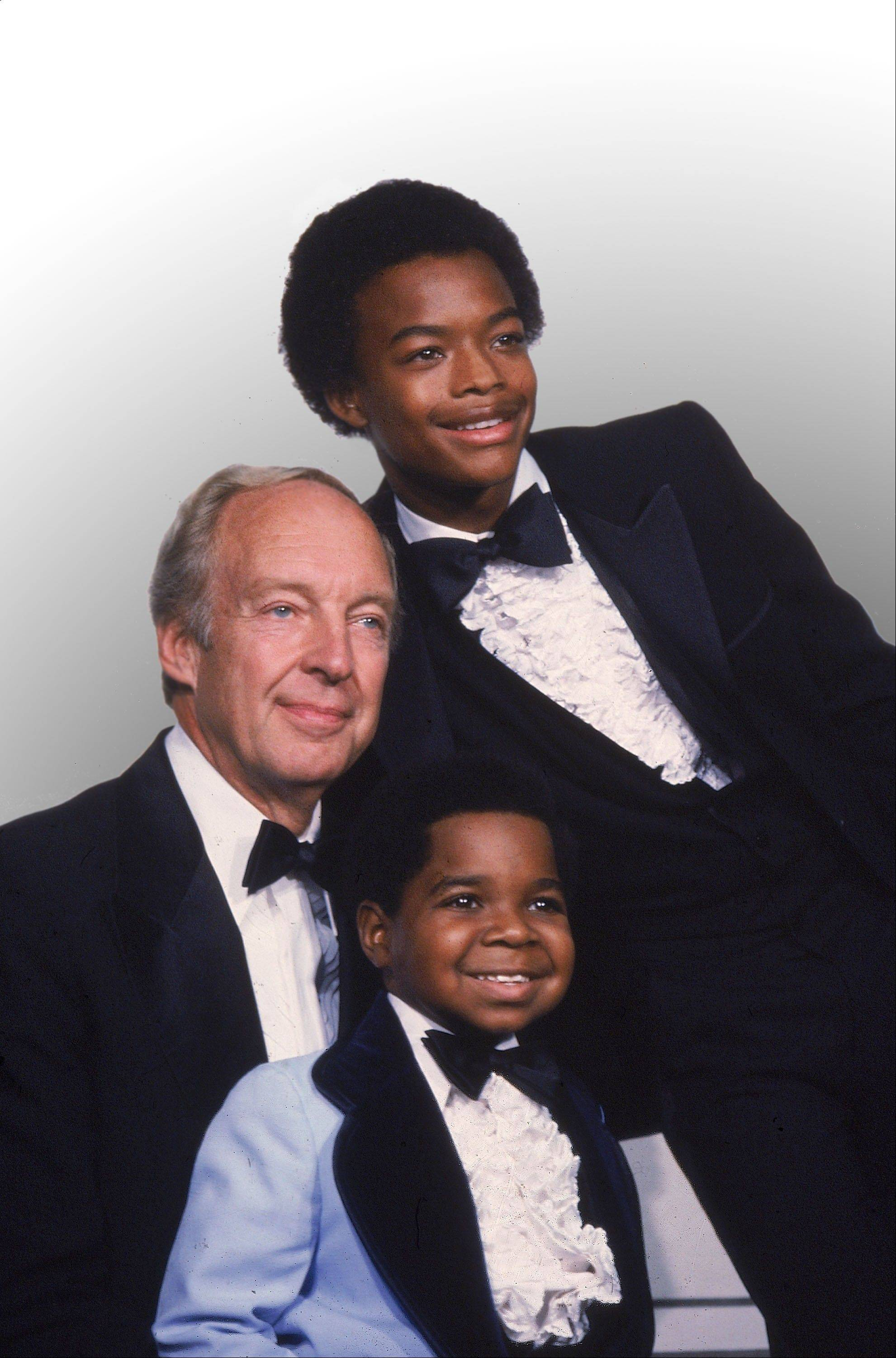 """Different Strokes"" cast, clockwise from foreground, Gary Coleman, Conrad Bain and Todd Bridges."