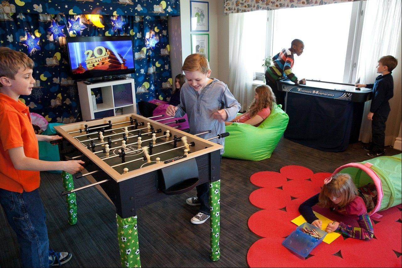 A new kids clubroom at the Four Seasons Hotel Chicago has been popular with families.