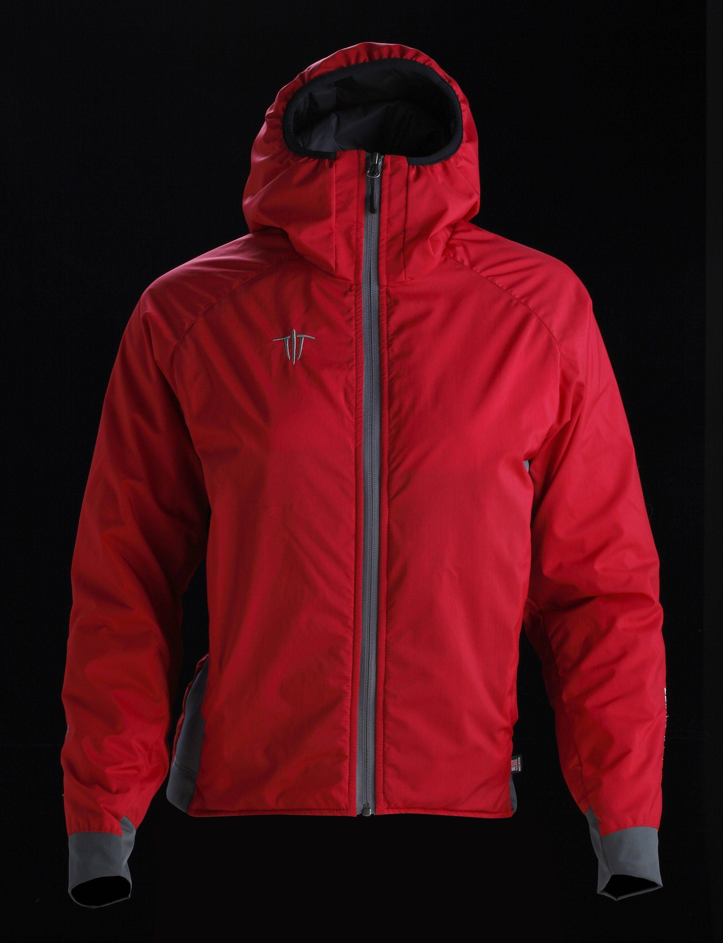 This women's Insulight jacket features an insulated hood.