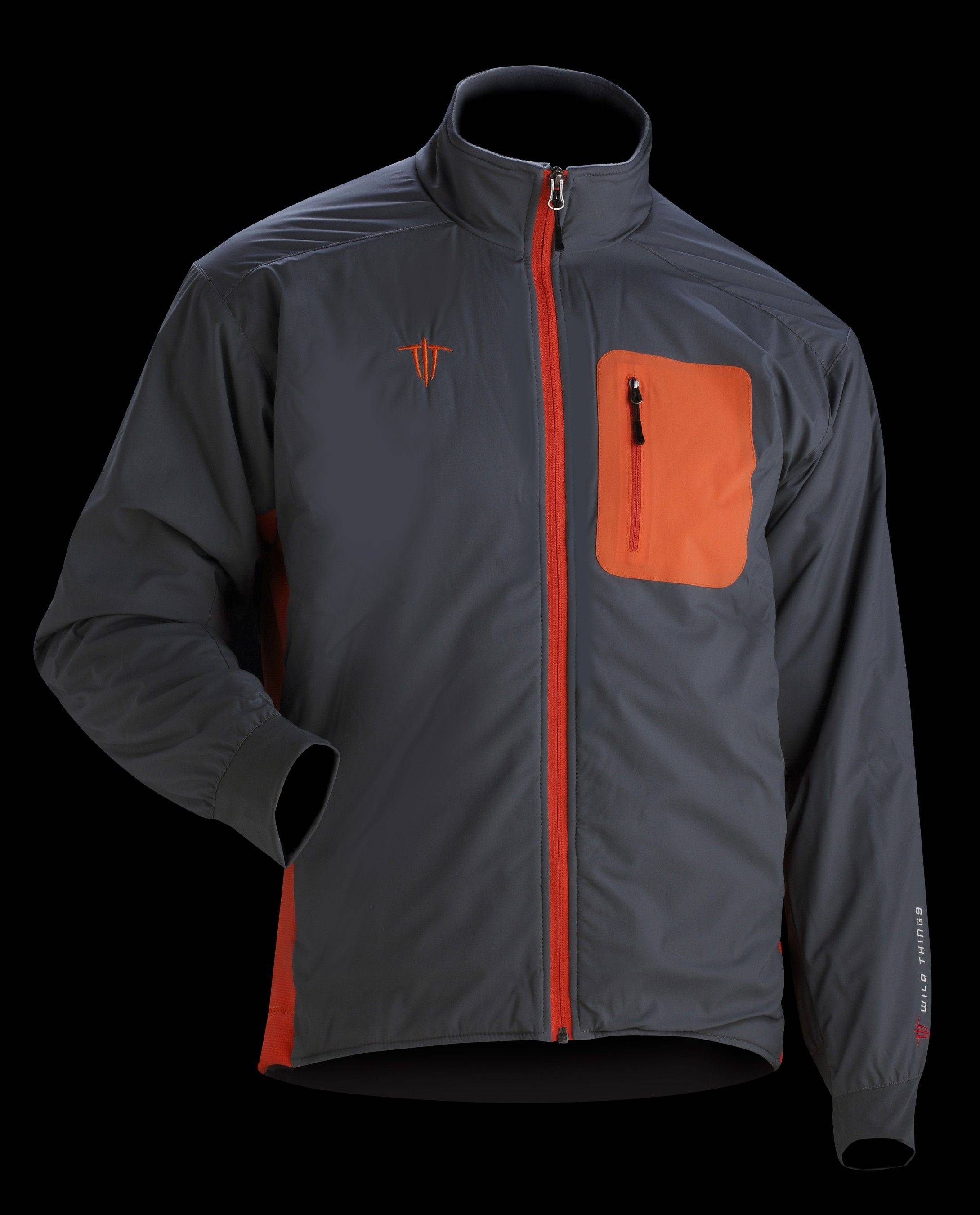A men's Insulight jacket comes with a fleece-lined collar.