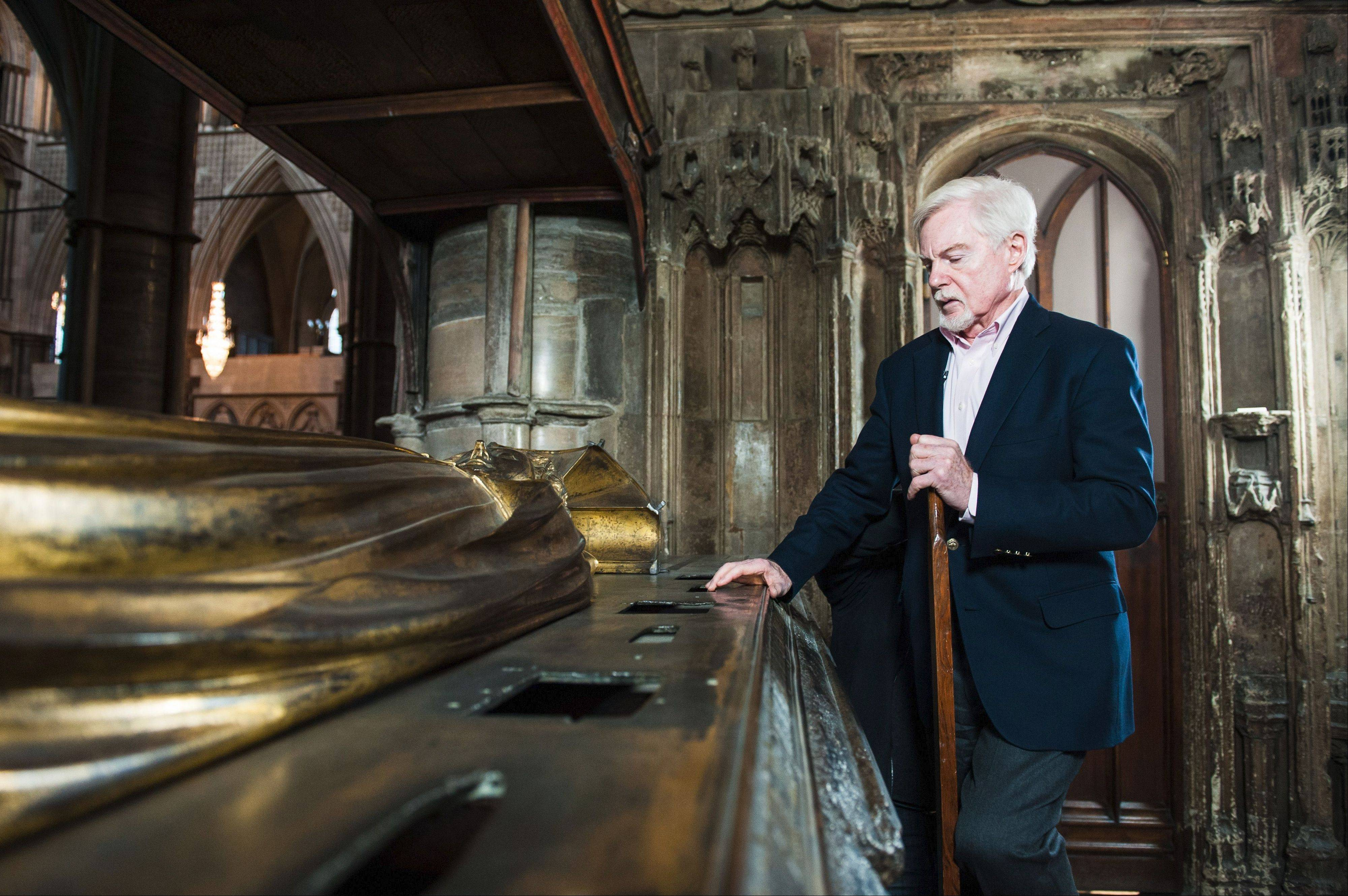 "Derek Jacobi delves into ""Richard II"" the PBS documentary series ""Shakespeare Uncovered."""