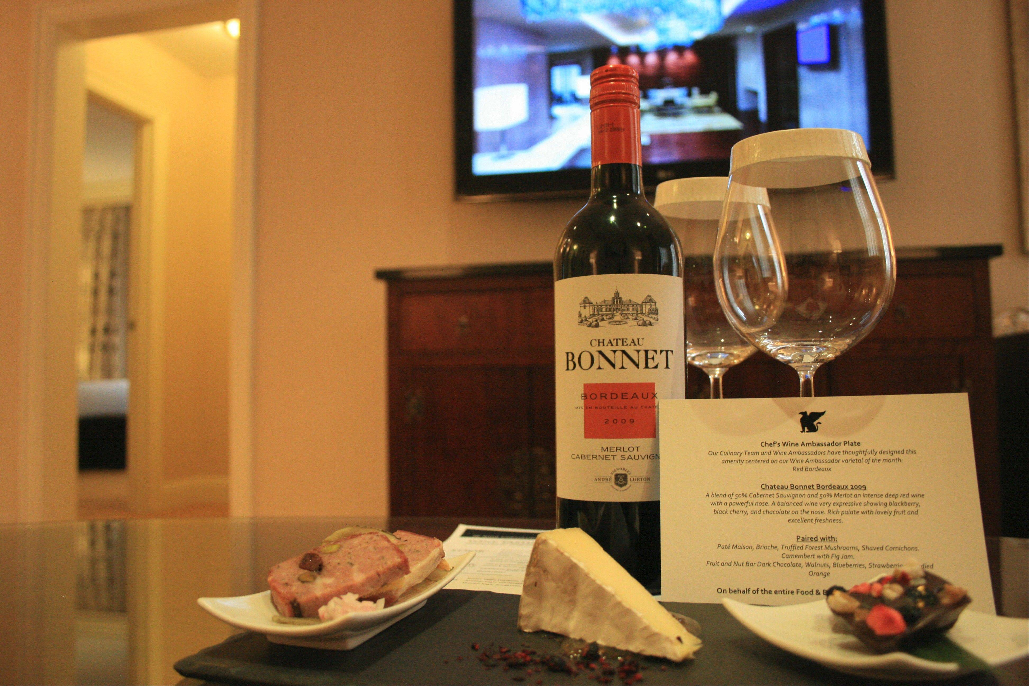 Enjoy wine tastings during a Wine Ambassador Weekend package at the JW Marriott Chicago.