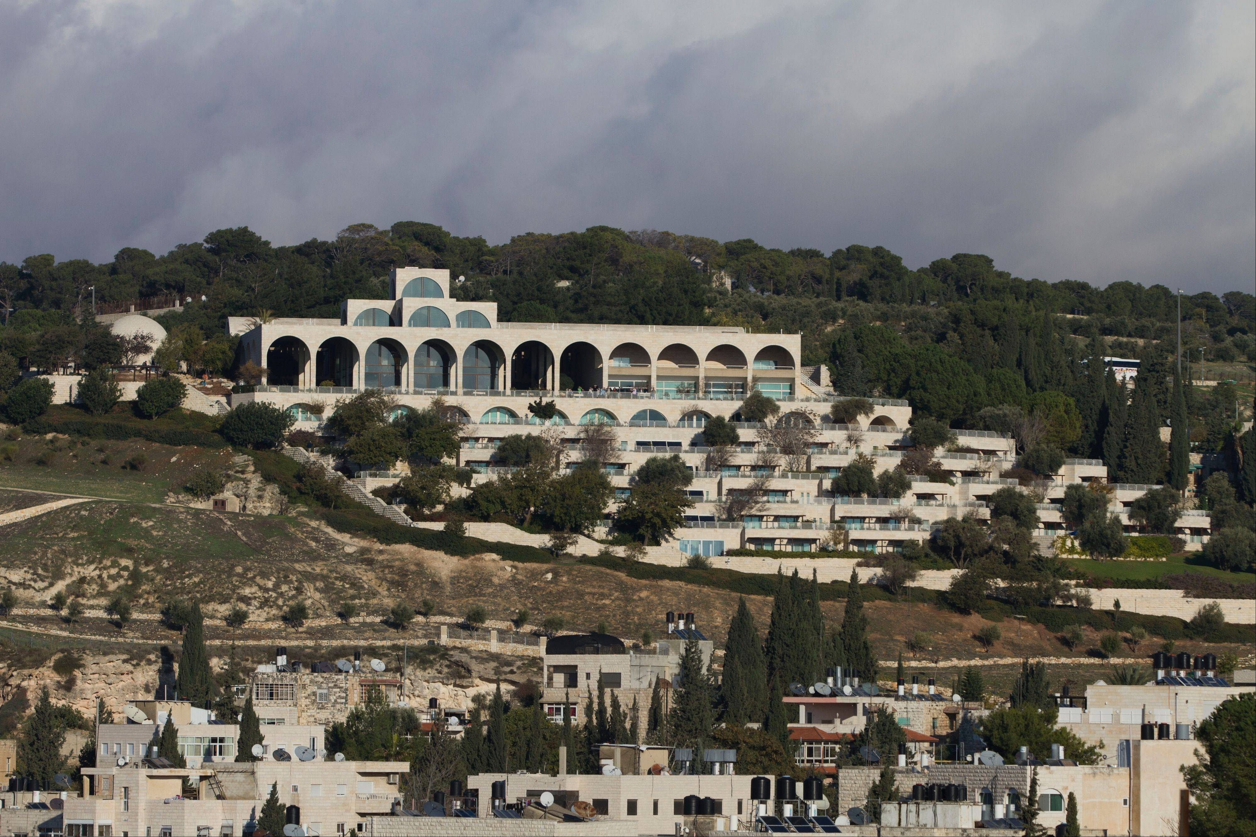 The Mormon University building, one of Jerusalem's tourist destinations, is located on Mount Scopus.