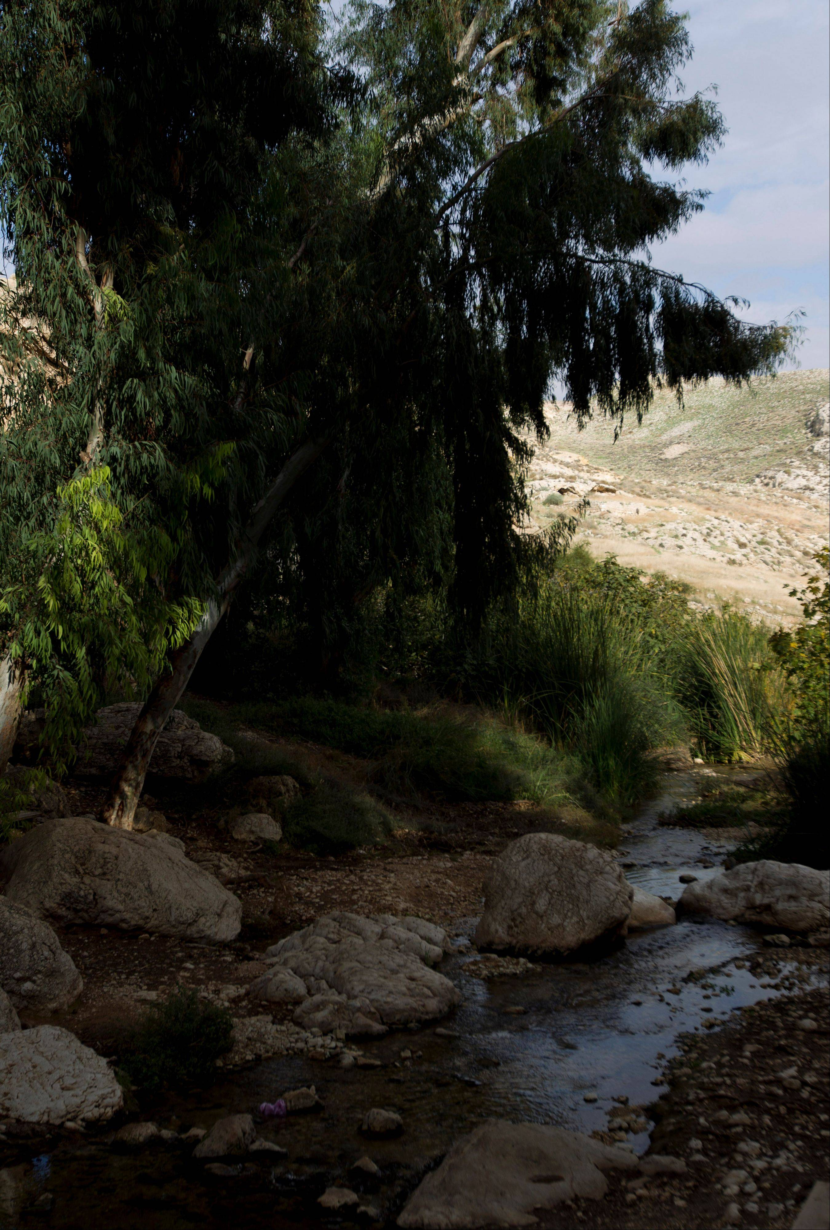 Ein Mabua spring in the Judean Desert, between Jerusalem and the West Bank town of Jericho. Beyond its earthly past, Jerusalem has an impossible beauty with broad appeal.