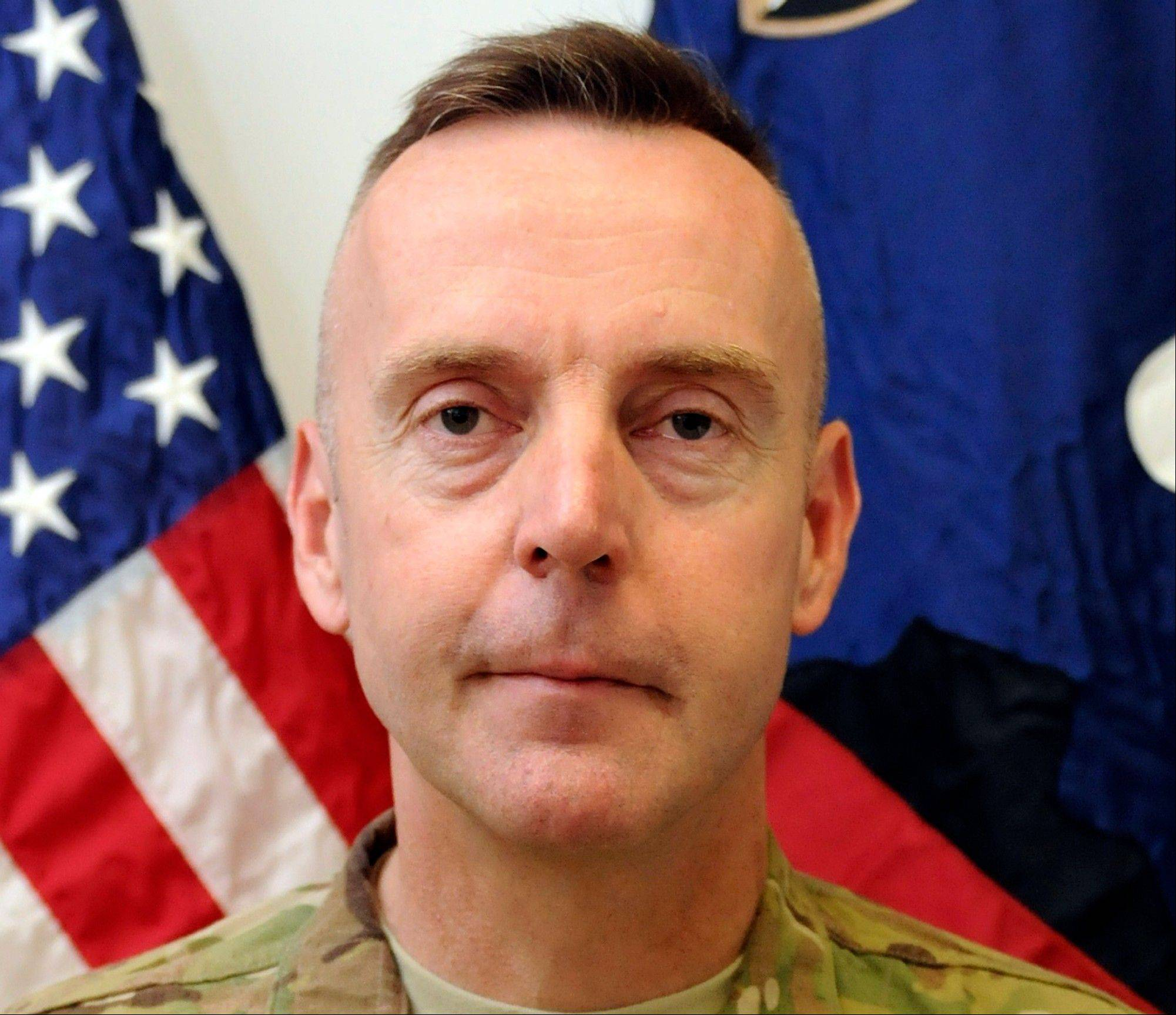This undated file photo provided by the U.S. Army shows Brig. Gen. Jeffrey A. Sinclair. Sinclair, fired from his command in Afghanistan in May 2012 and now facing a court-martial on charges of sodomy, adultery and pornography and more, is just one in a long line of commanders whose careers were ended because of possible sexual misconduct.