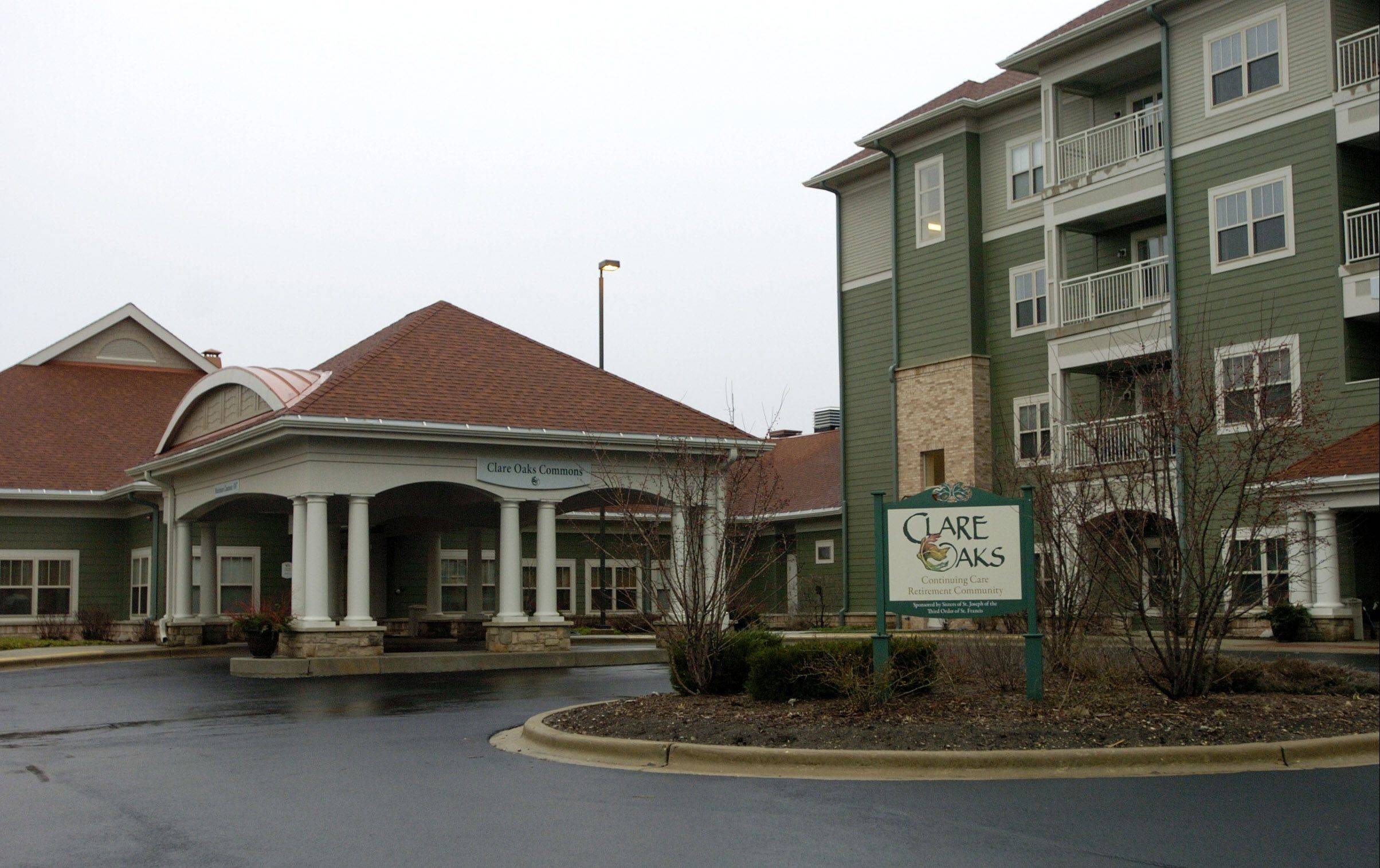 The Clare Oaks retirement community in Bartlett, founded by an order of nuns, is back on track after restructuring its debt in a bankruptcy proceeding.