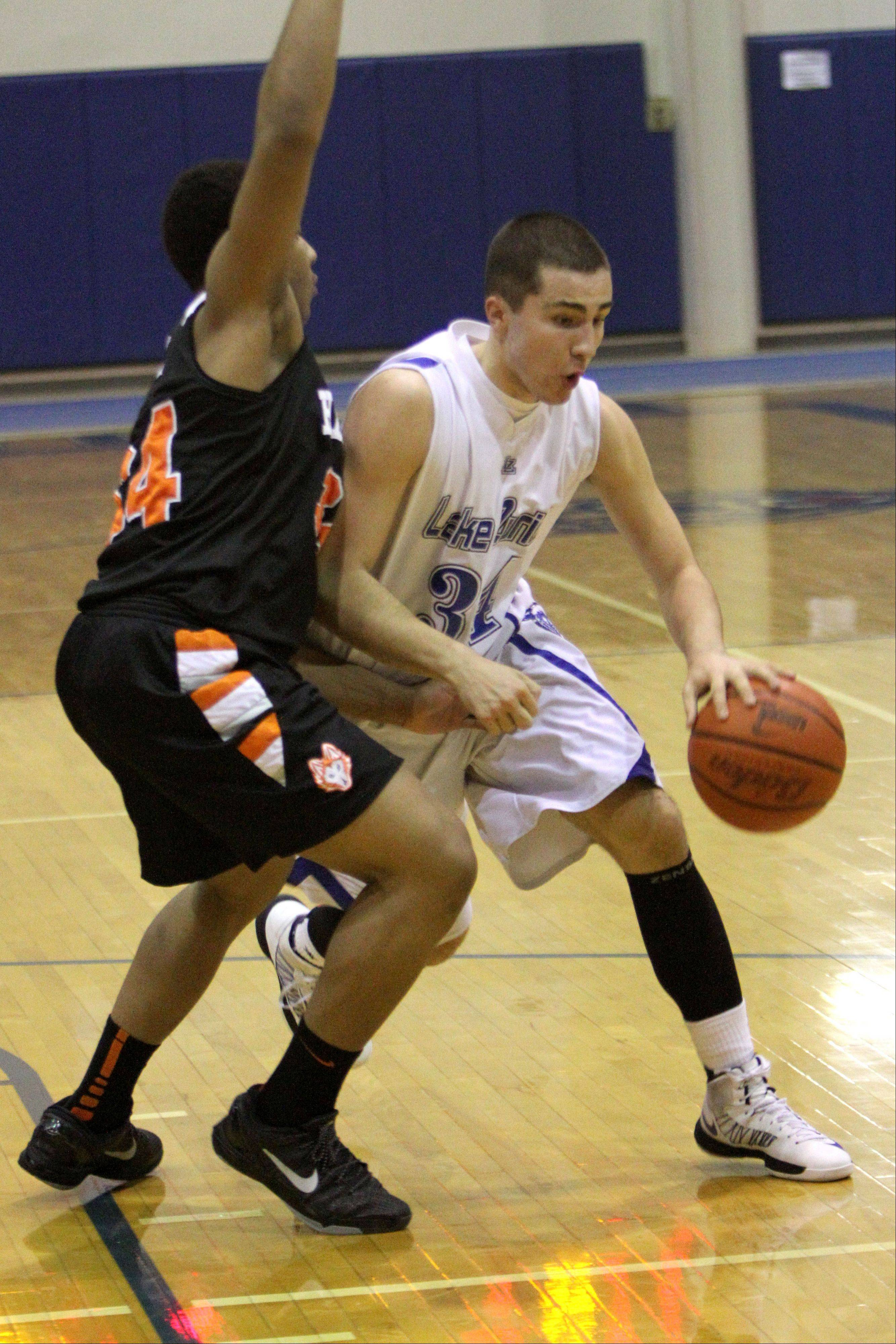 Images from the Harlem vs. Lake Zurich boys basketball game on Monday, Jan. 21 in Lake Zurich.