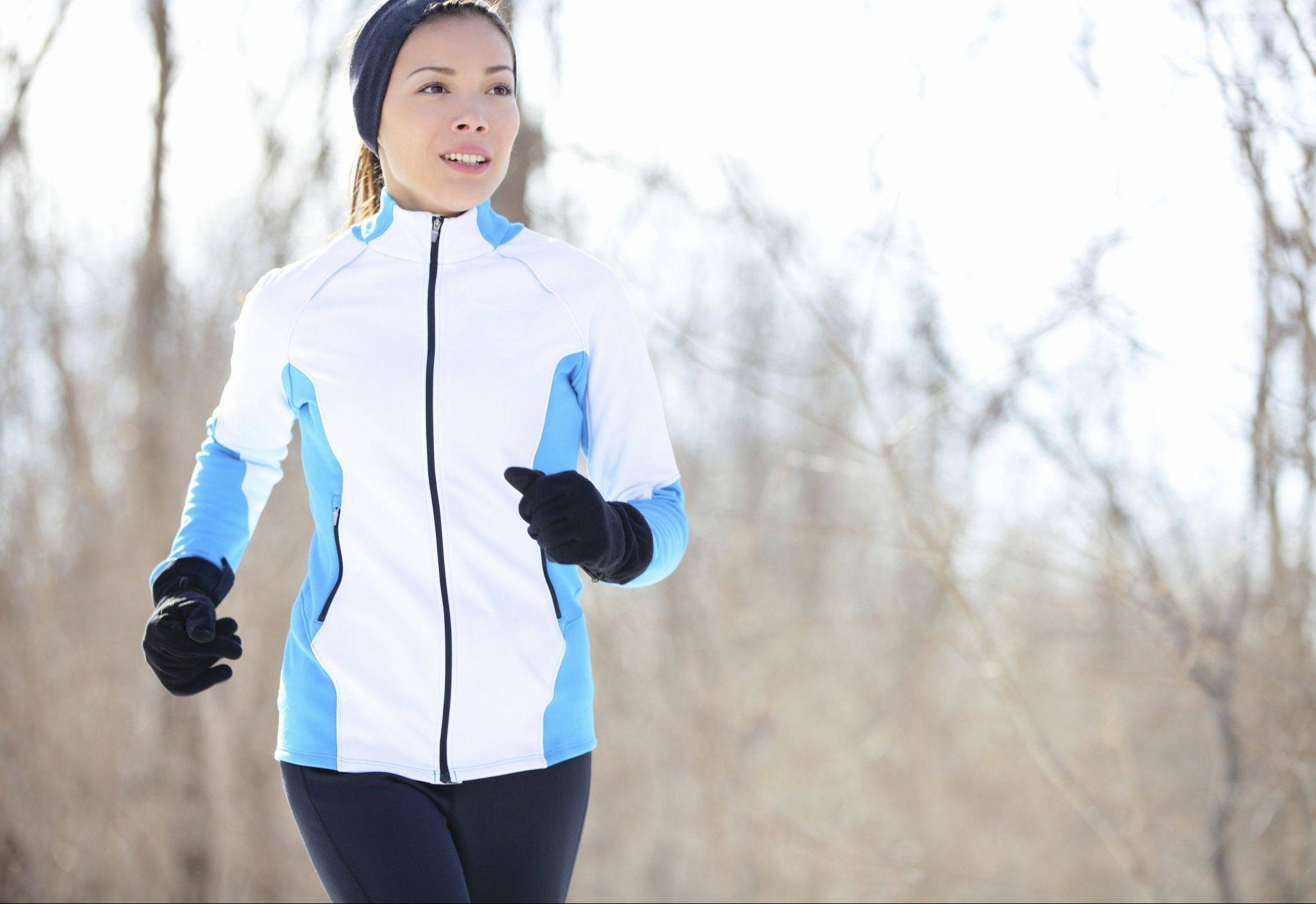 Outdoor activities, such as jogging, can help battle seasonal mood problems during winter.