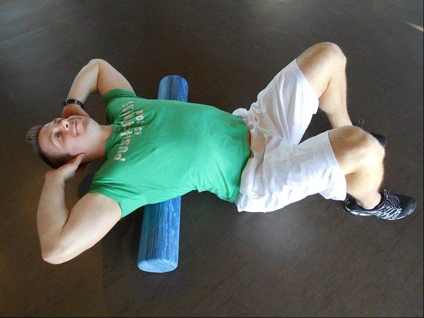 Stretching the thoracic region