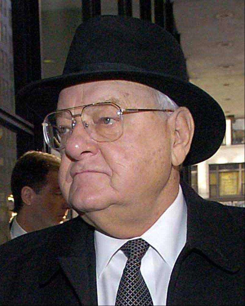 Former Gov. George Ryan at the Dirksen Federal Building, March 7, 2006.