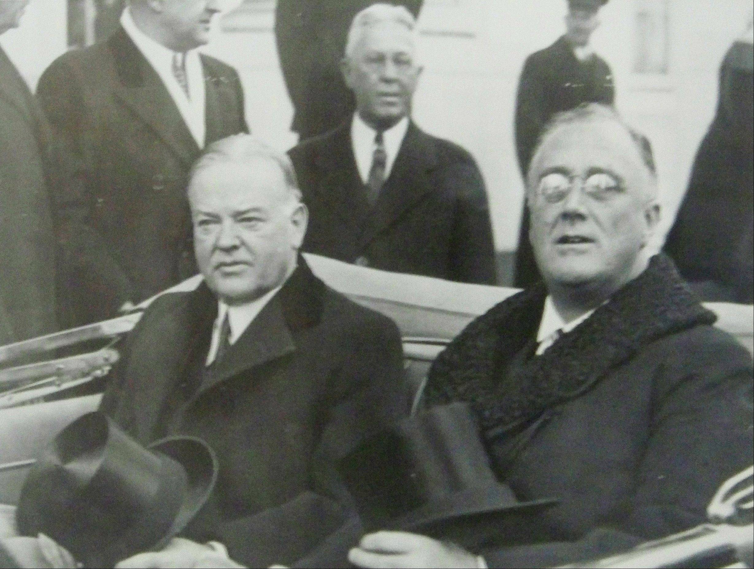 President-elect Franklin D. Roosevelt travels to his Inauguration with the outgoing President Herbert Hoover as they share a tense ride to the Capitol in Washington, D.C.