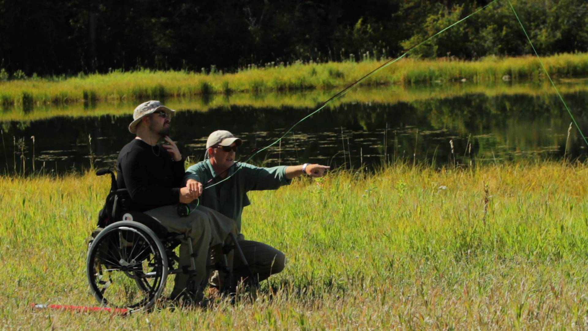 Former Navy SEAL and wounded warrior Elliott Miller begins his journey to recovery on the rivers of Montana.