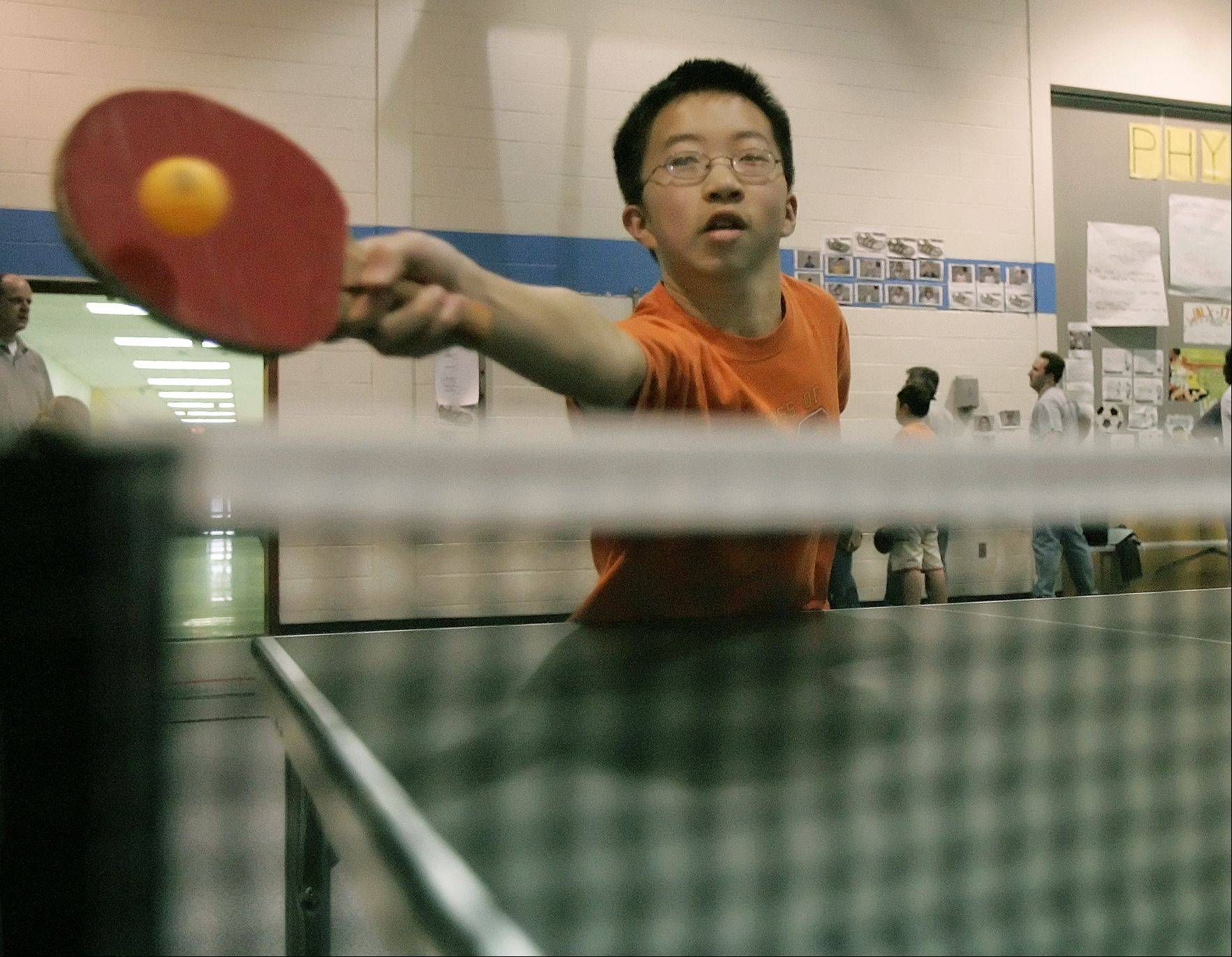 Table tennis players from across the region will compete Jan. 26 in the annual Naperville Table Tennis Tournament.