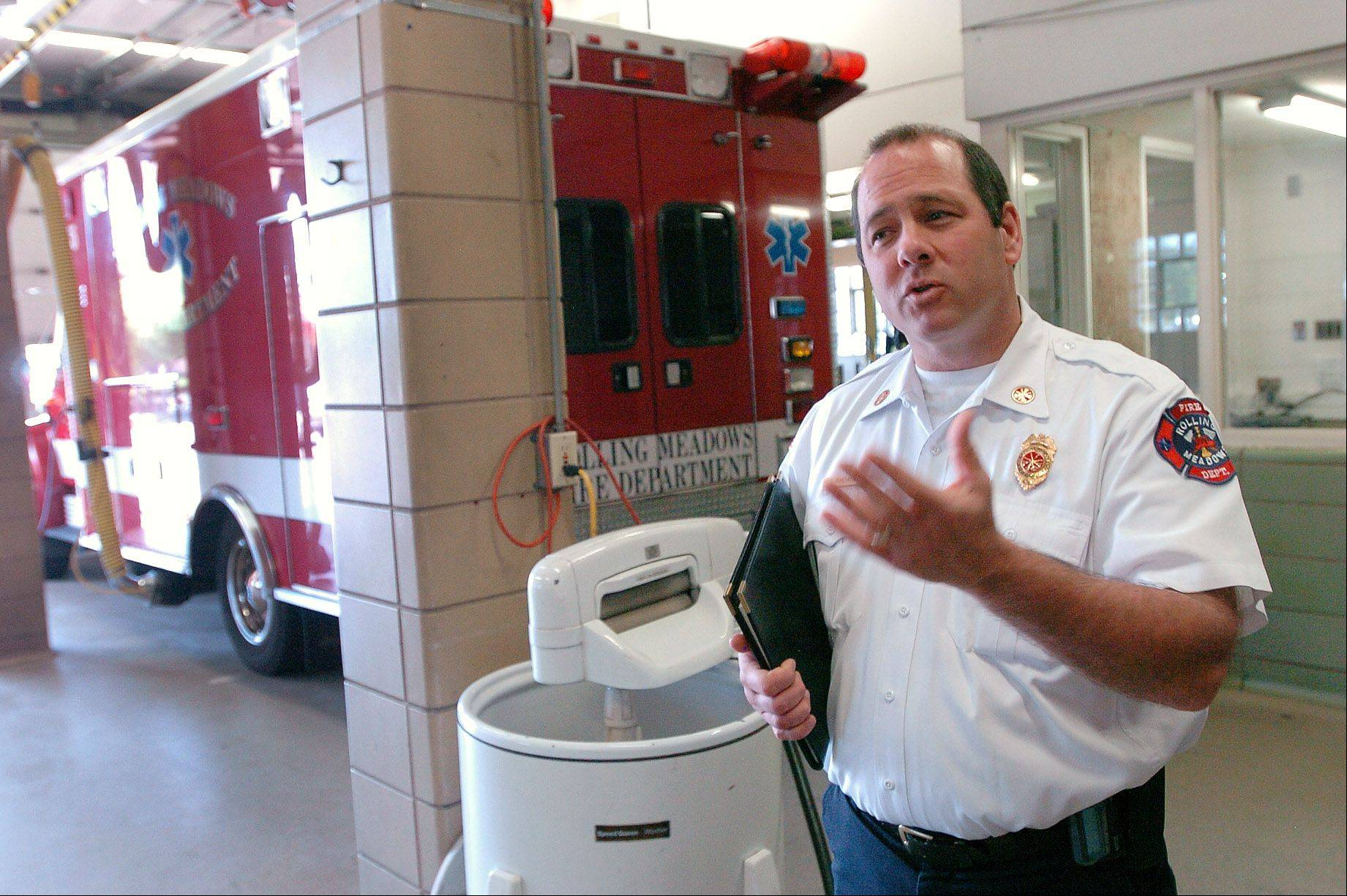 Rolling Meadows Fire Chief Scott Franzgrote