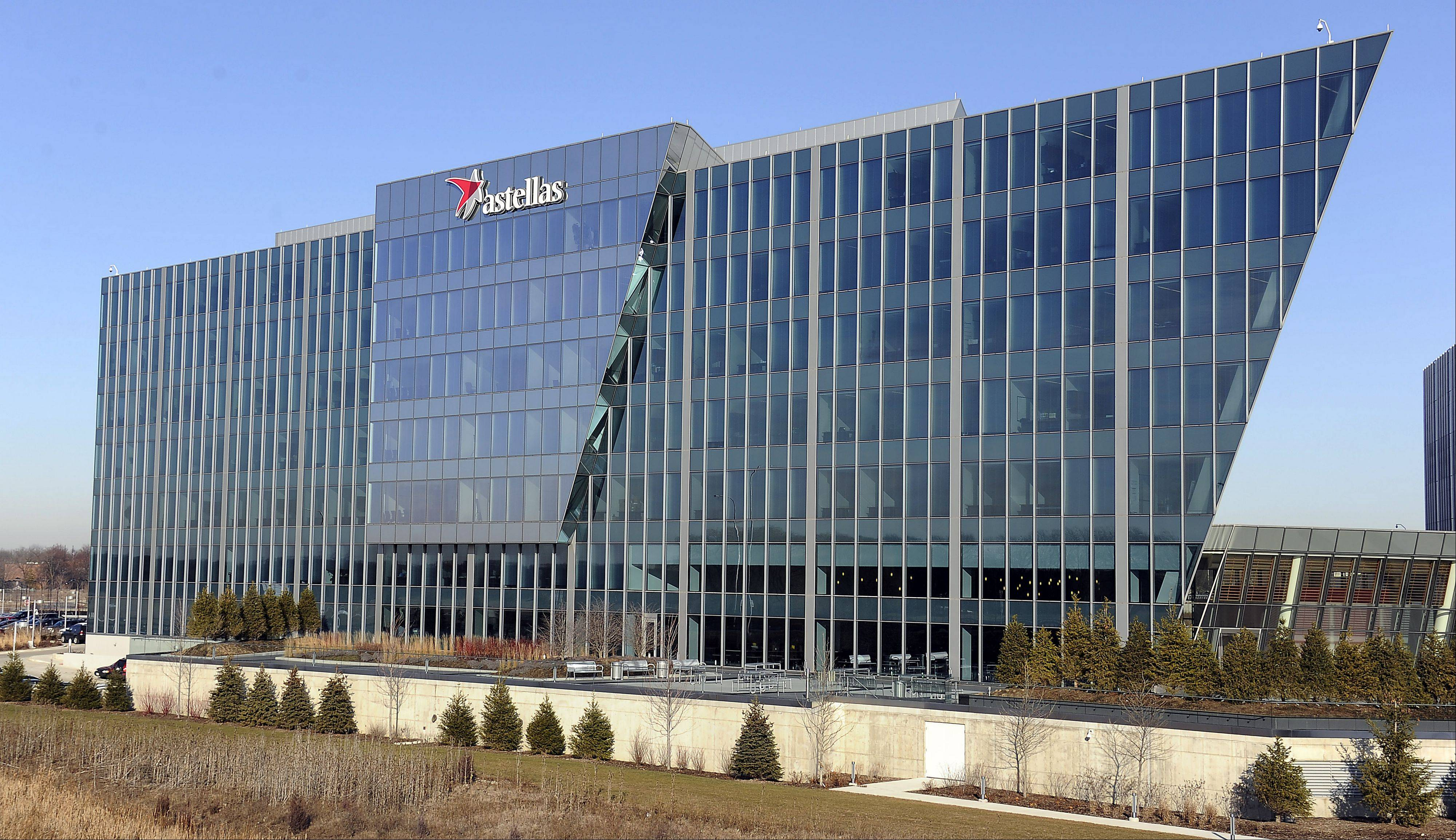 Mark Welsh/mwelsh@dailyherald.comAstellas Pharma Headquarter in Northbrook.