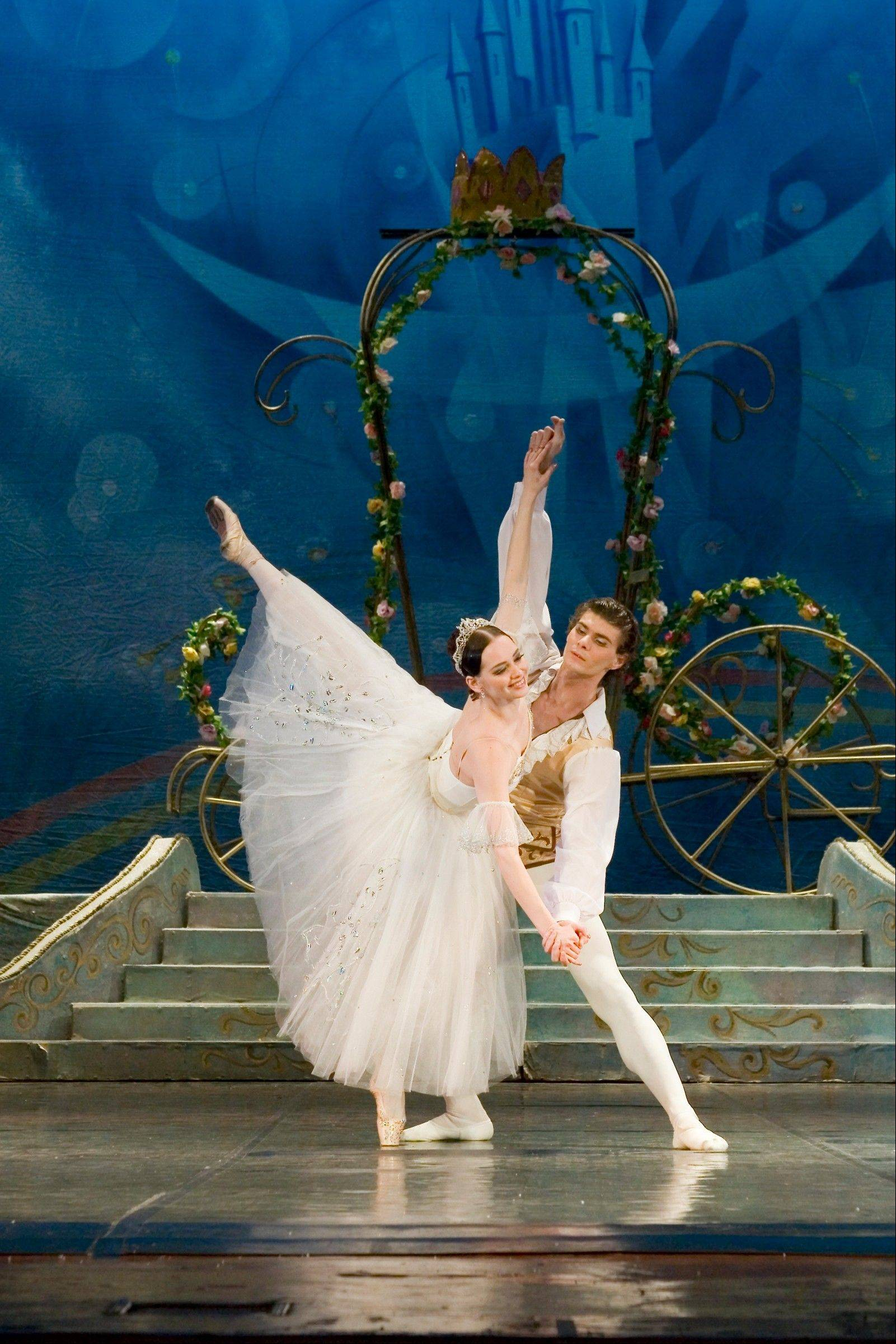"The State Ballet Theatre of Russia presents Prokofiev's classic ballet ""Cinderella"" at the Genesee Theatre on Jan. 26."
