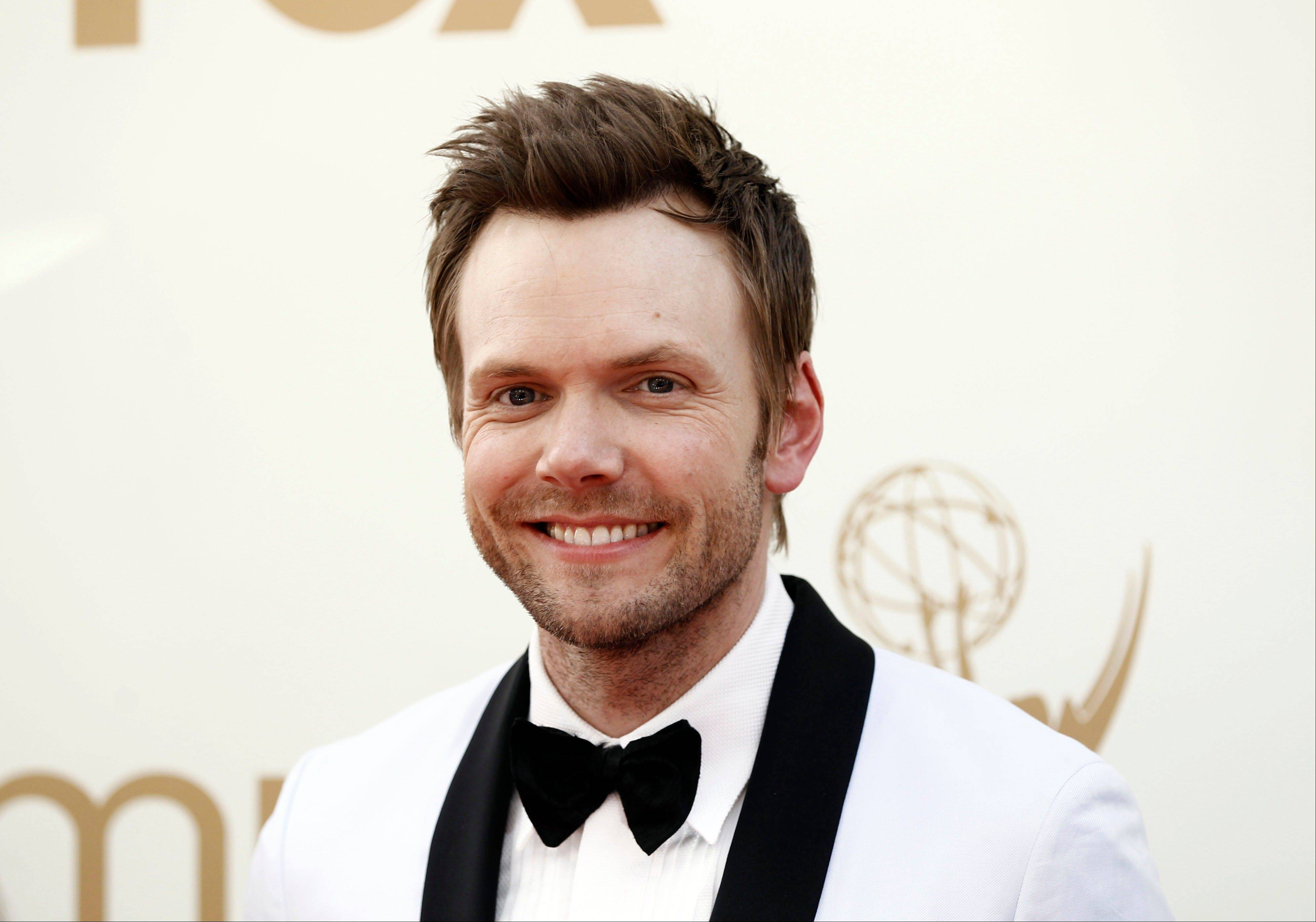 "Joel McHale of ""Community"" fame performs at the Improv Comedy Showcase in Schaumburg."