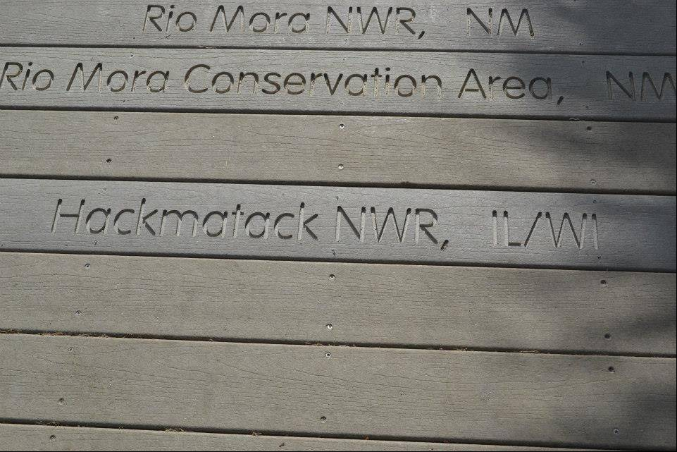 "A boardwalk at the nation's first wildlife refuge on Florida's Pelican Island now has a plank reading ""Hackmatack"" -- our nation's newest and 561st wildlife refuge."