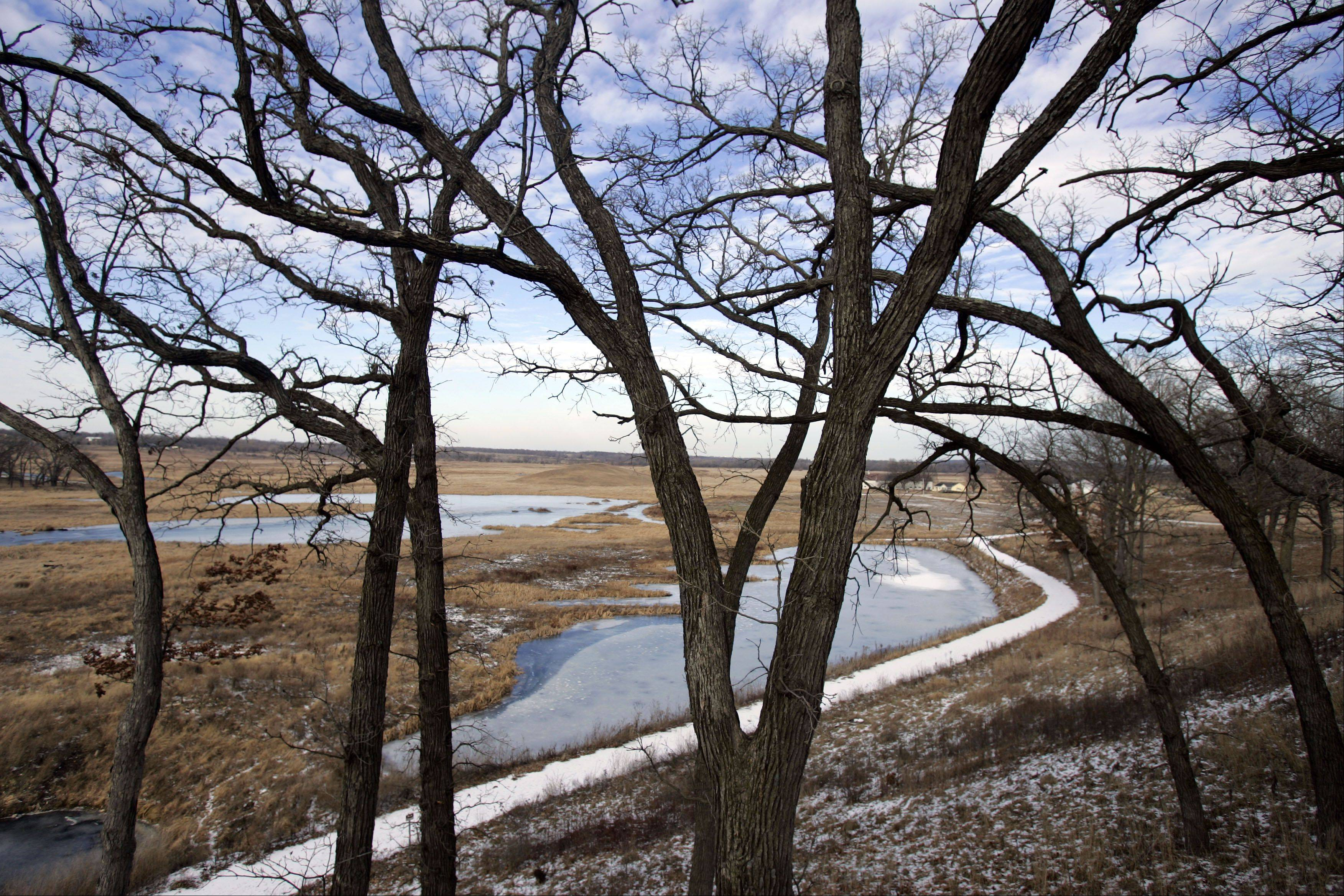Plenty of open land at the Glacial Park and Hackmatack National Wildlife Refuge in McHenry County.