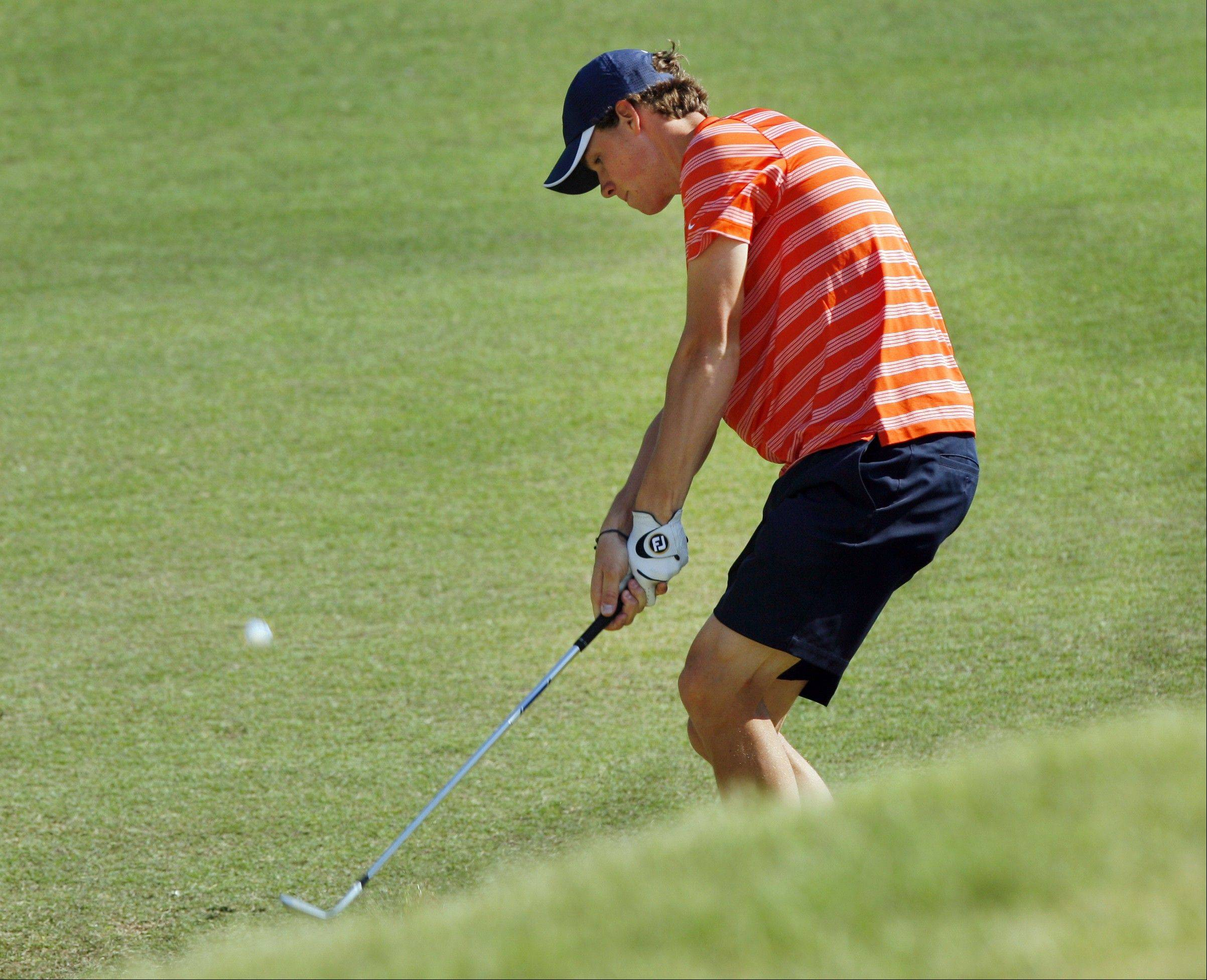 Illinois golfer Thomas Pieters won the NCAA individual title as a sophomore last May. Pieters plans to turn pro after his junior season this spring.