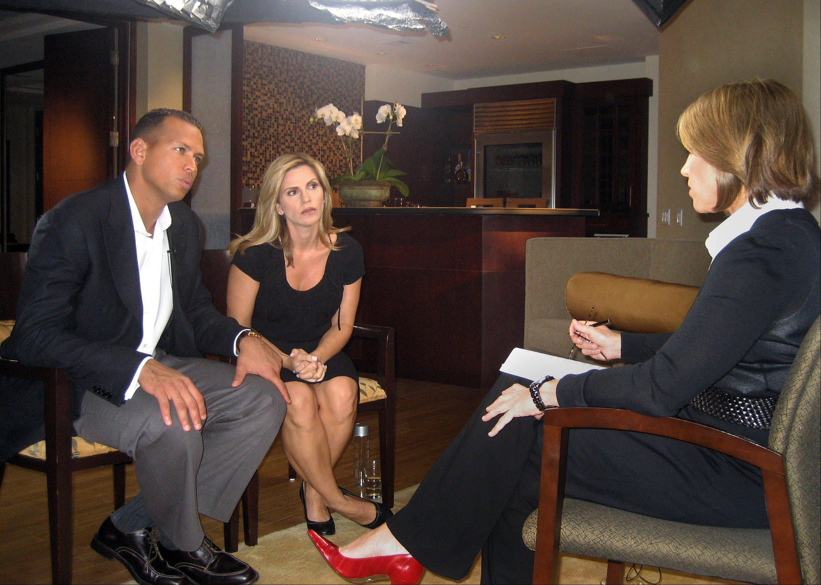 New York Yankee star Alex Rodriguez and his wife Cynthia talked with Katie Couric 2007 after the release of the Mitchell Report, which accusing scores of Major League Baseball players of using steroids. Now the family of All-American linebacker Manti Te'o has agreed to talk with Couric this week about the hoax involving a fake girlfriend linked to Te'o.