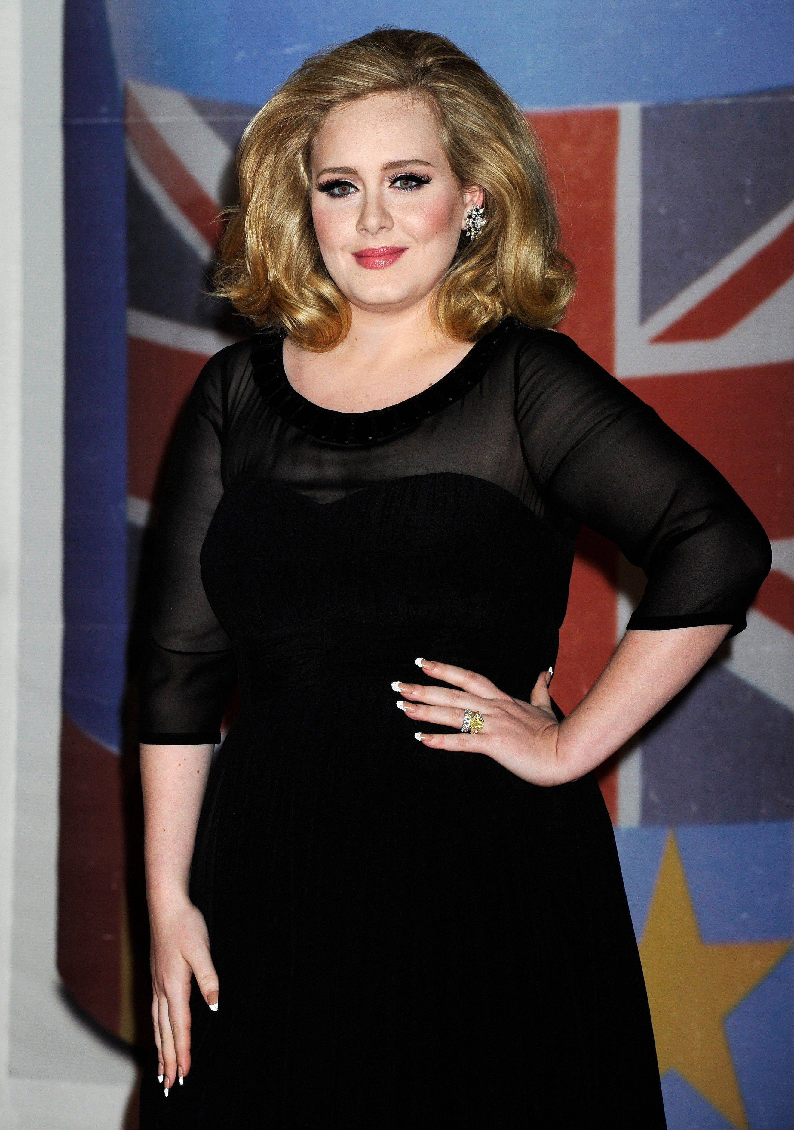 "Adele will perform the James Bond theme ""Skyfall"" at the Oscars, her first U.S. performance since last year's Grammy Awards."