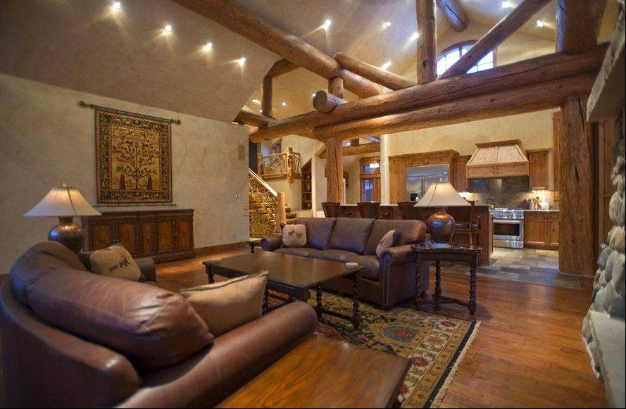 The Breckenridge Riverwood Home at Wyndham Vacation Rentals in Colorado has three bedrooms and can sleep 13 people.