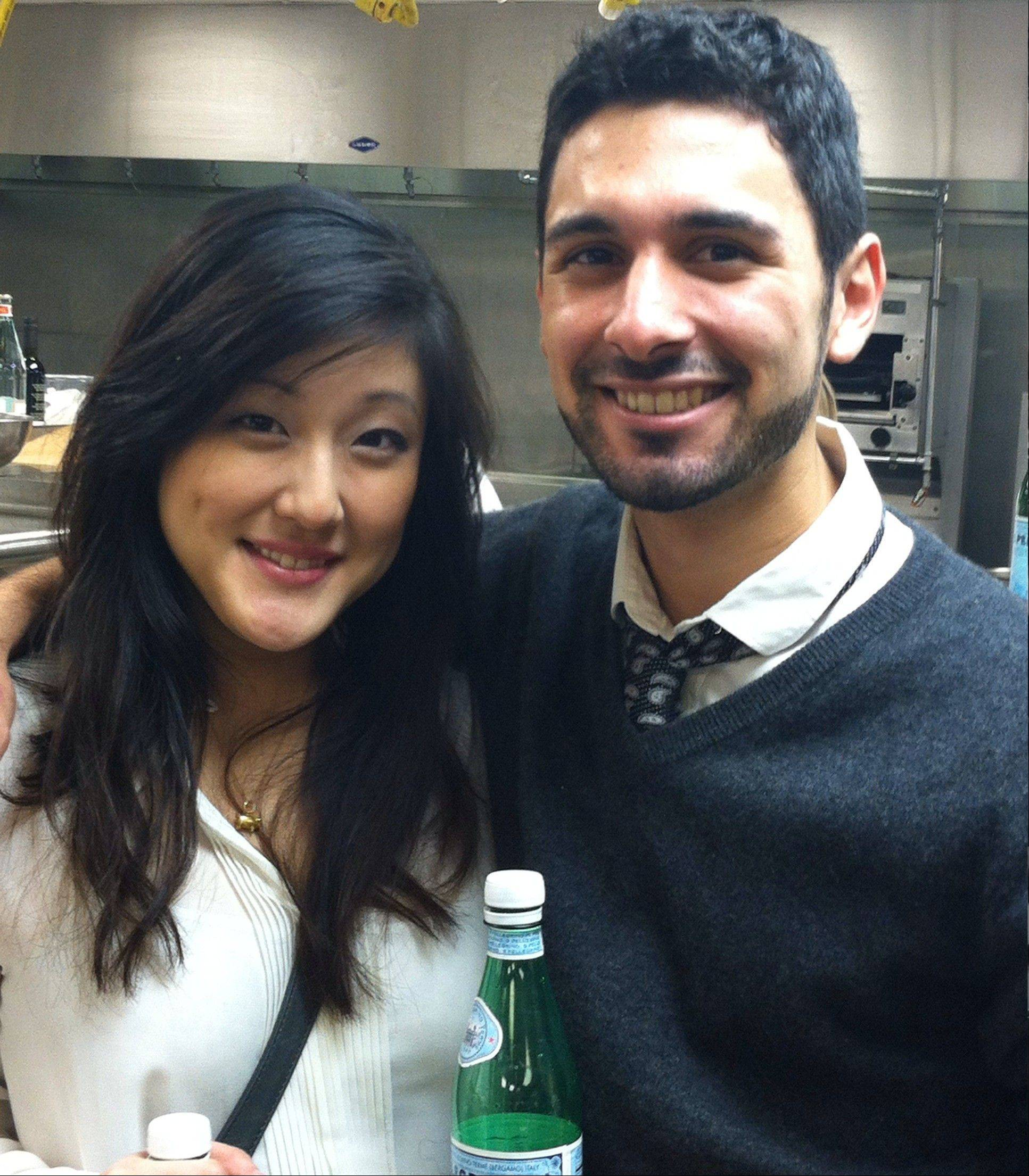 Jennifer Kim and Marco Bahena are past winners of the S. Pellegrino Almost Famous Chef competition.