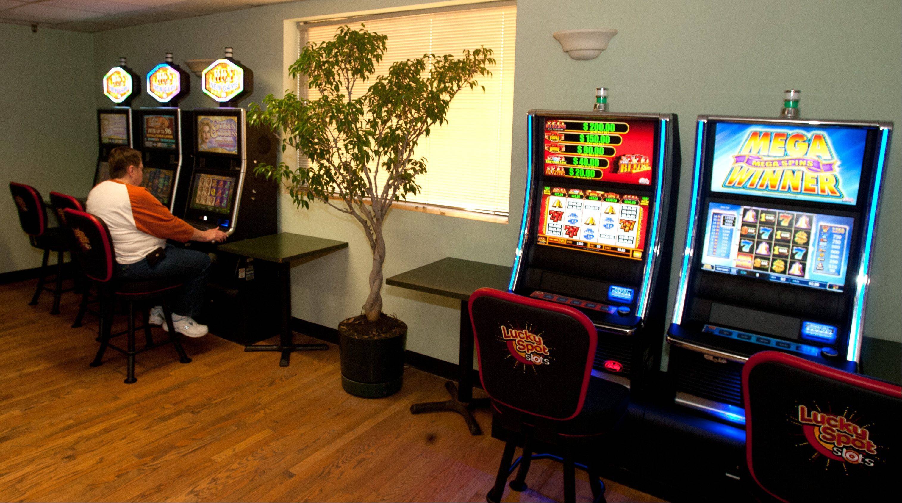 Club Shotz in Carol Stream recently added video gaming.