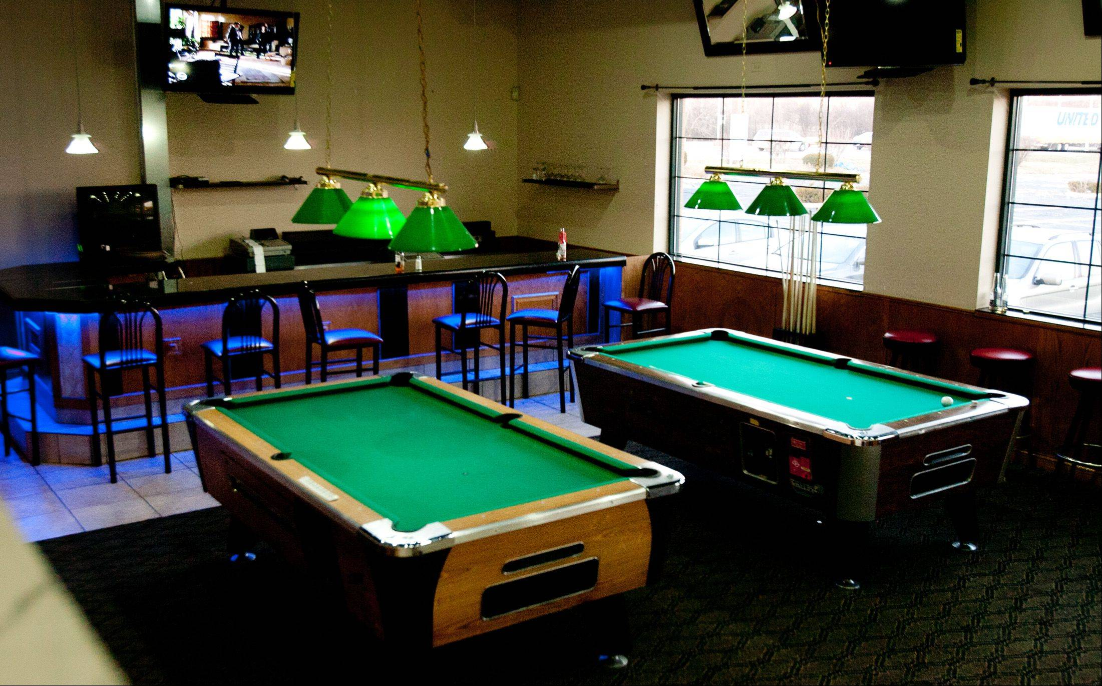 The bar Playoffs reopened as Club Shotz in September.
