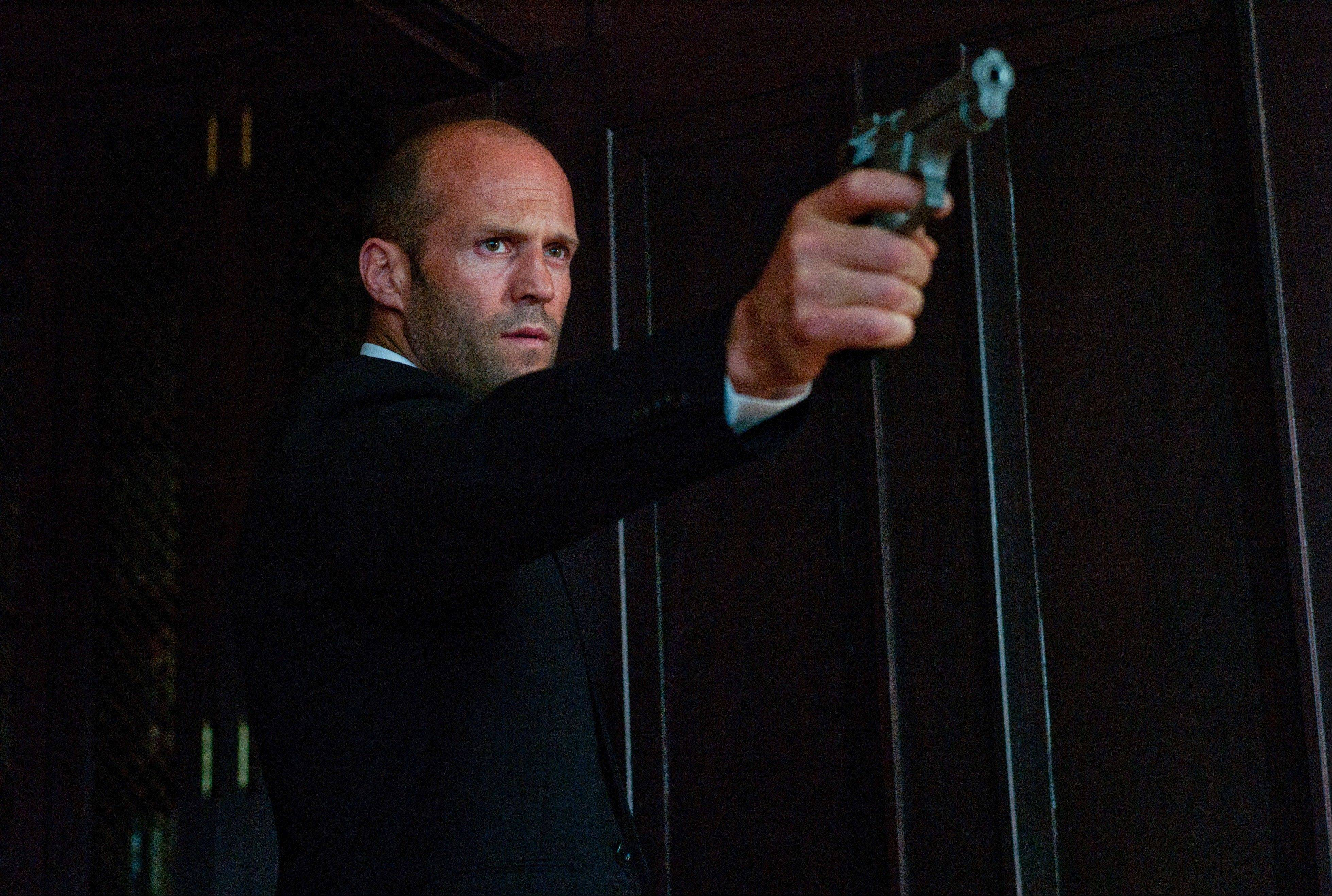 "Action star Jason Statham stars as the title character in the crime thriller ""Parker."""